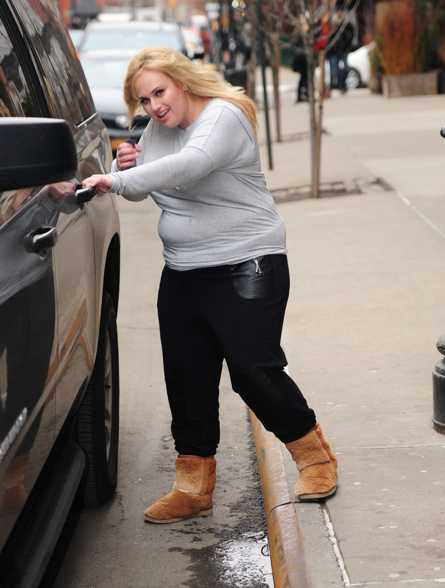 Rebel Wilson go out in New York