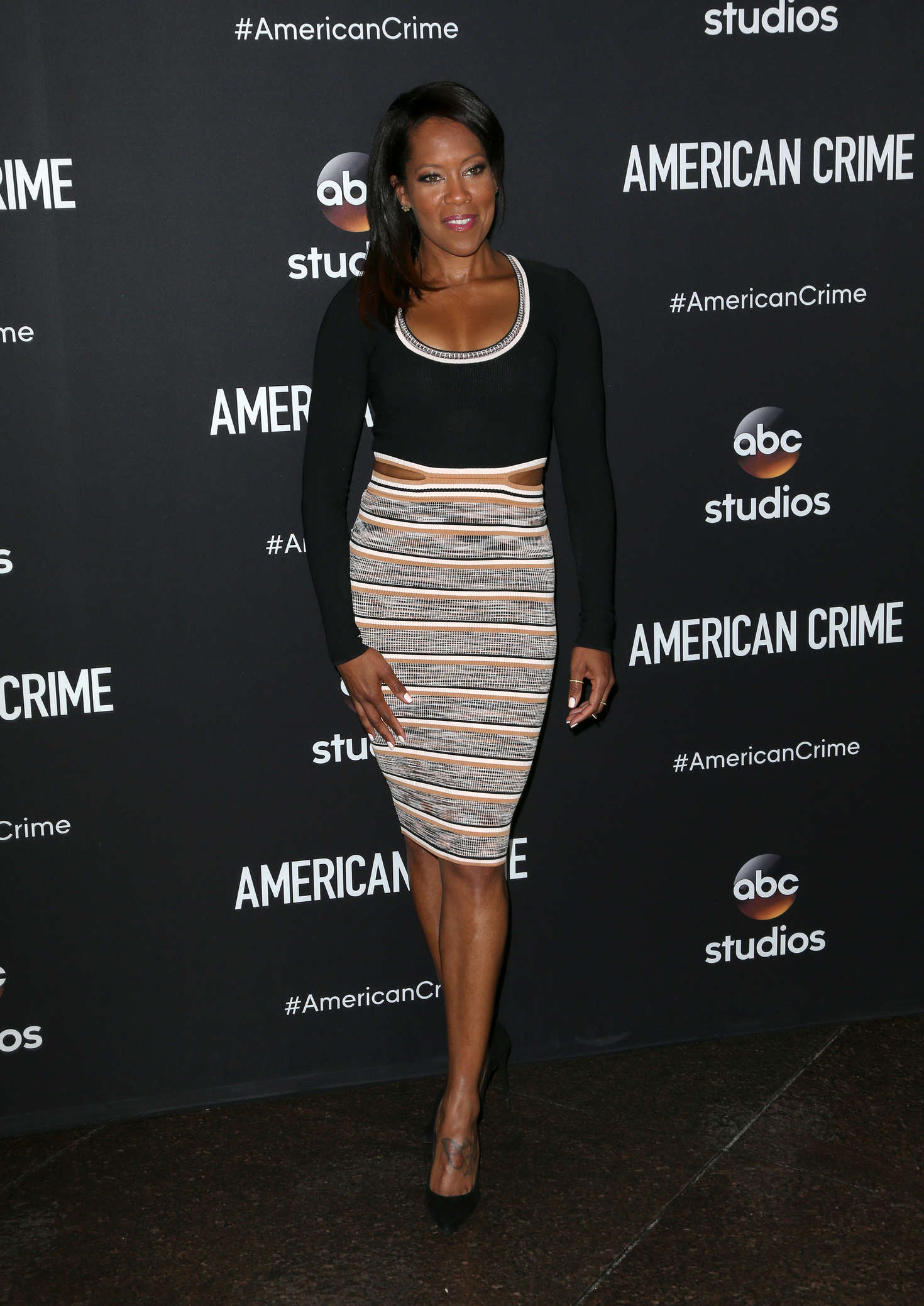Regina King American Crime Screening in West Hollywood