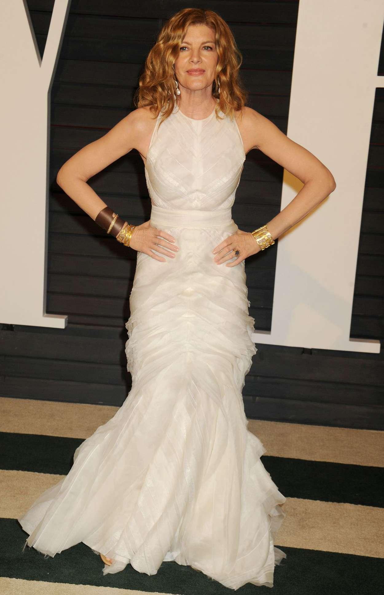 Rene Russo Vanity Fair Oscar Party in Hollywood