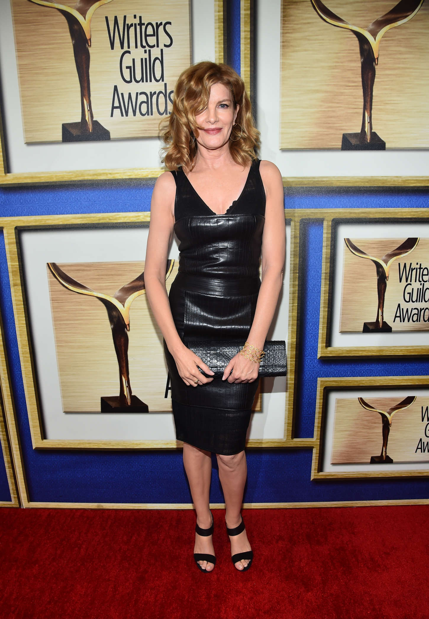 Rene Russo Writers Guild Awards Los Angeles in Century City