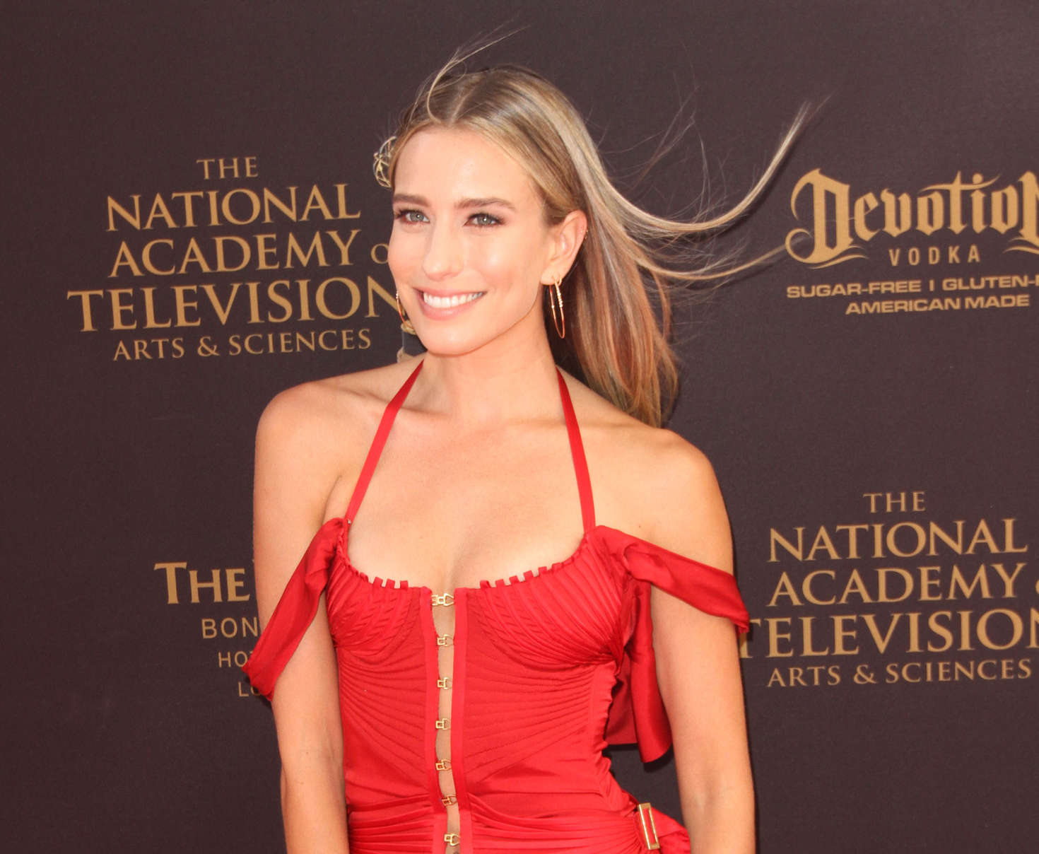 Renee Bargh Daytime Emmy Awards in Los Angeles