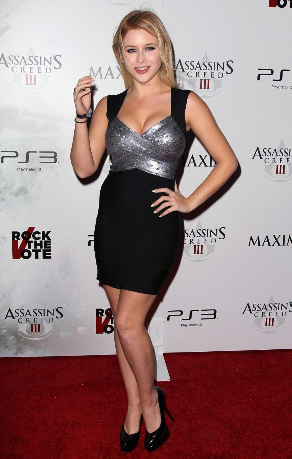 Renee Olstead Maxim Rock The Vote party in Los Angeles