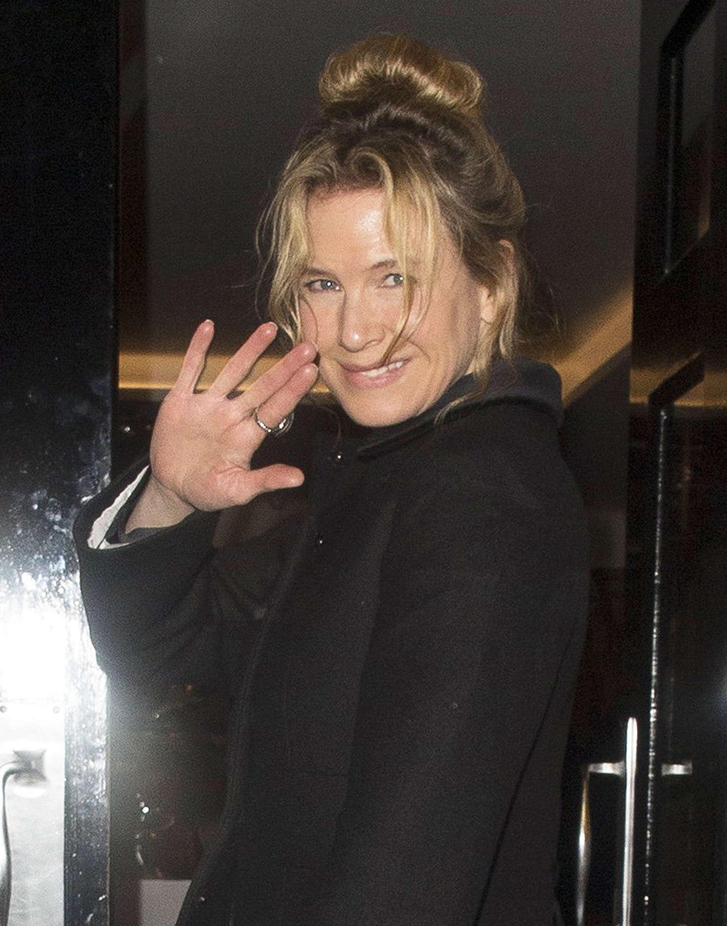 Renee Zellweger at the Haymarket Hotel in London