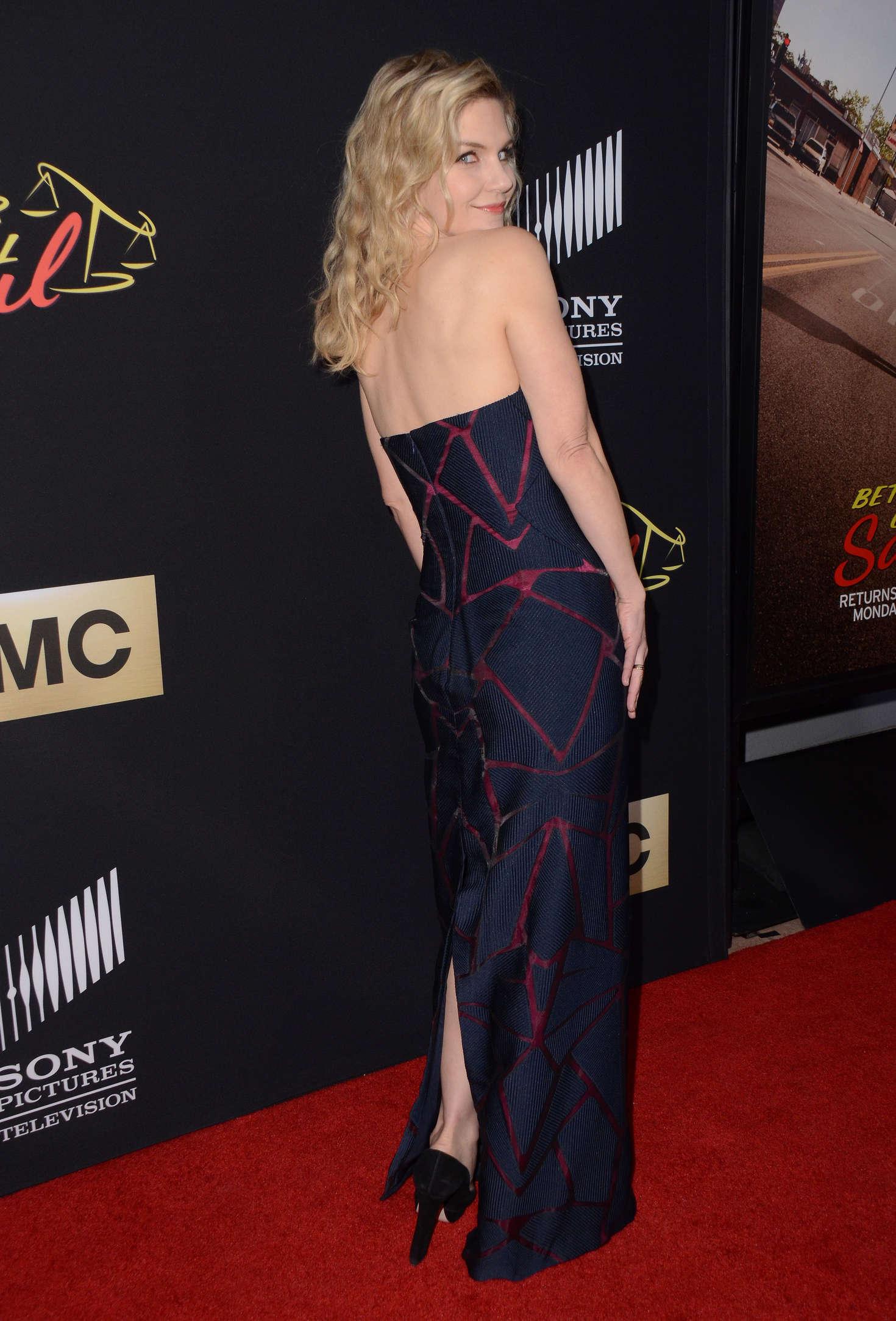 Rhea Seehorn Better Call Saul Season Two Screening in Los Angeles