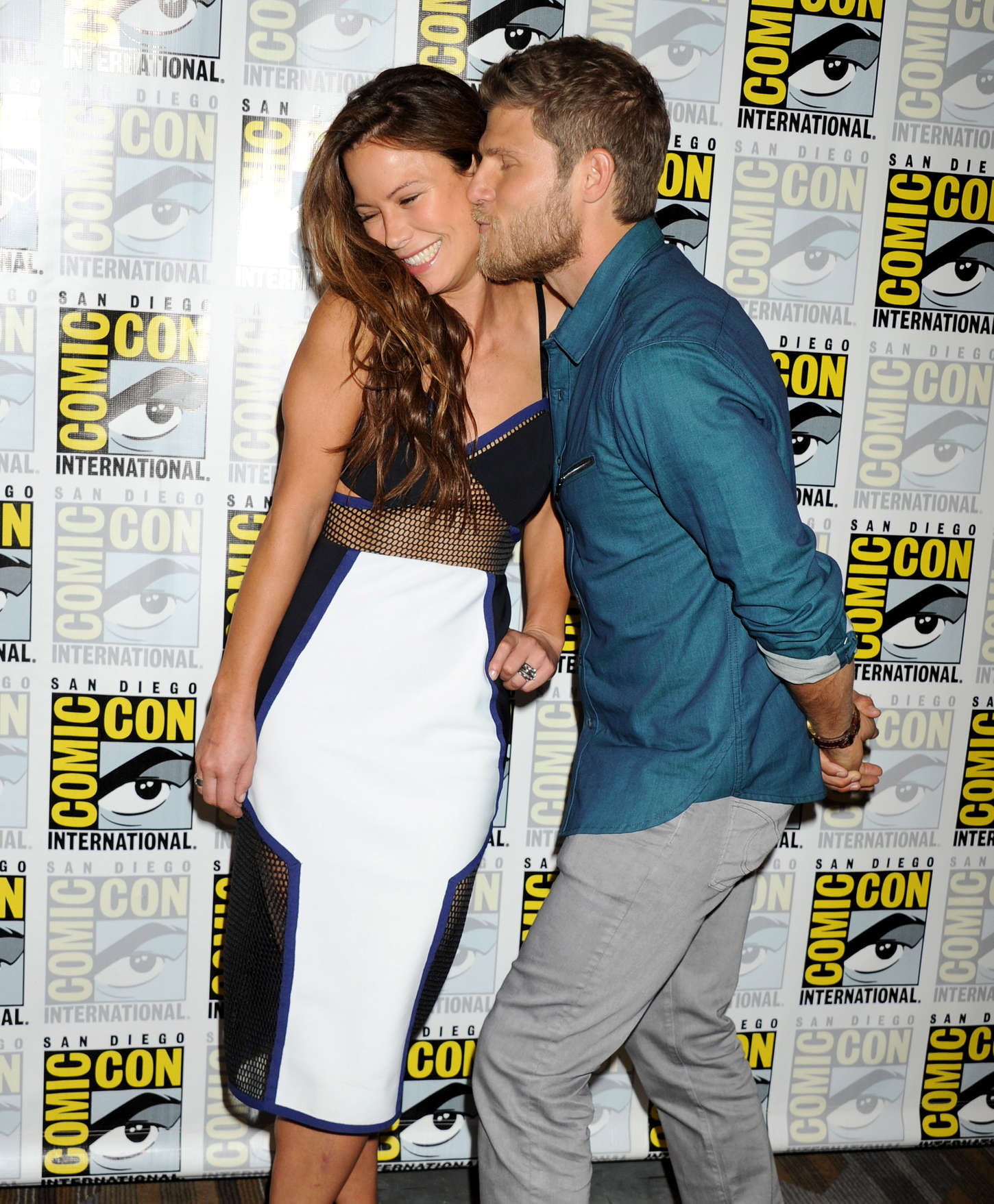 Rhona Mitra The Last Ship Press Line During Comic-Con in San Diego