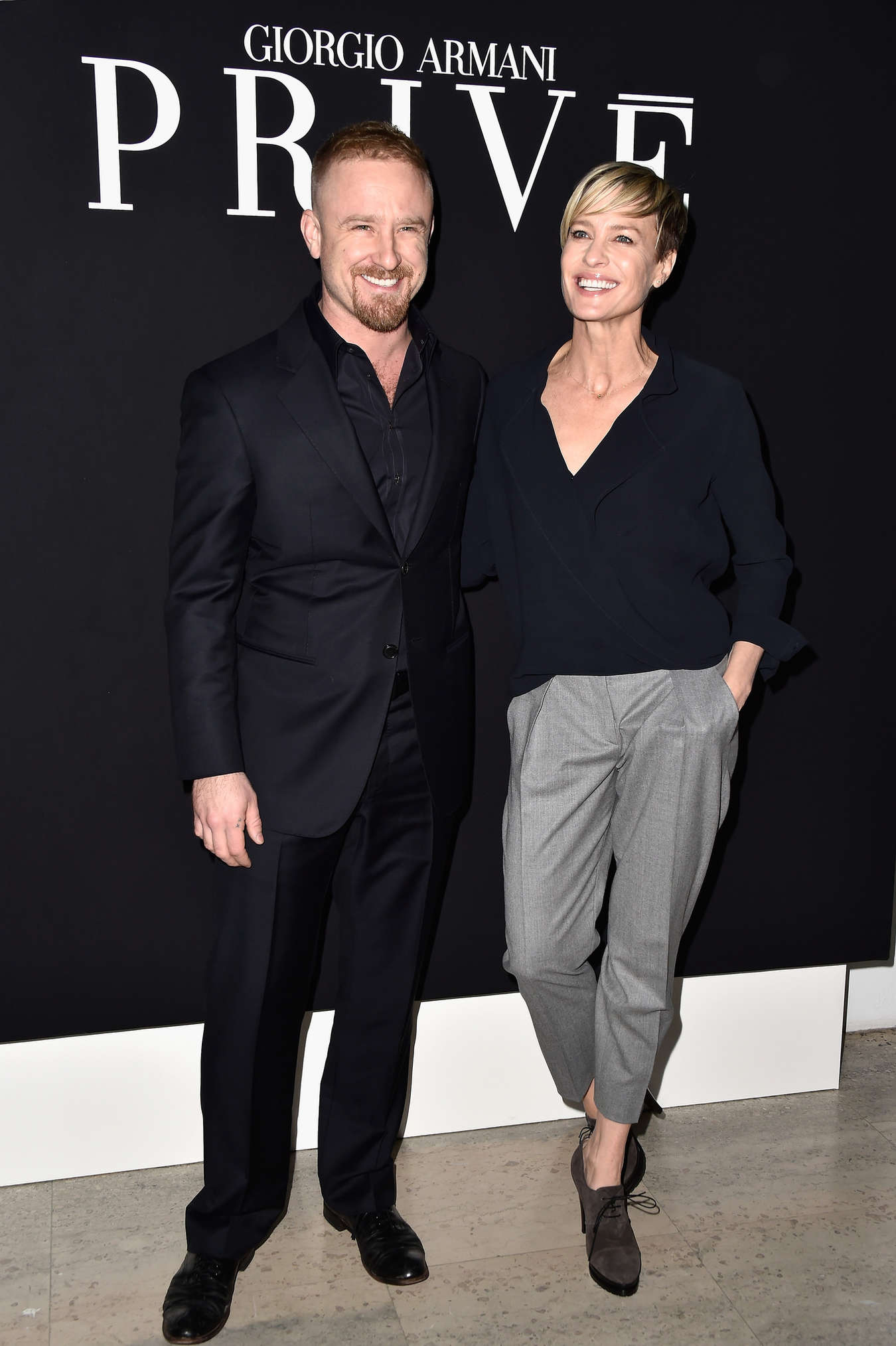 Robin Wright Giorgio Armani Prive Show in Paris-1