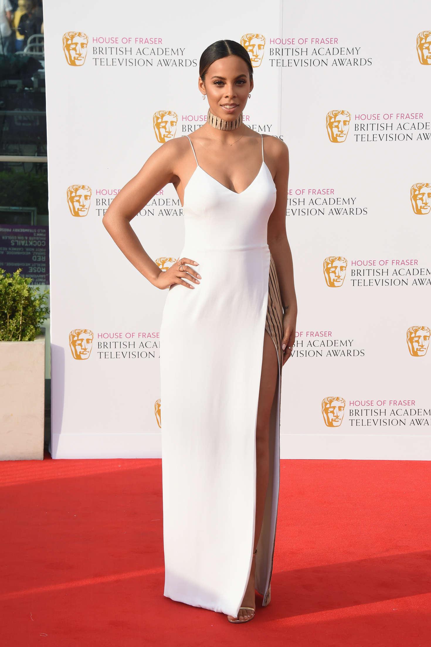 Rochelle Humes BAFTA TV Awards in London