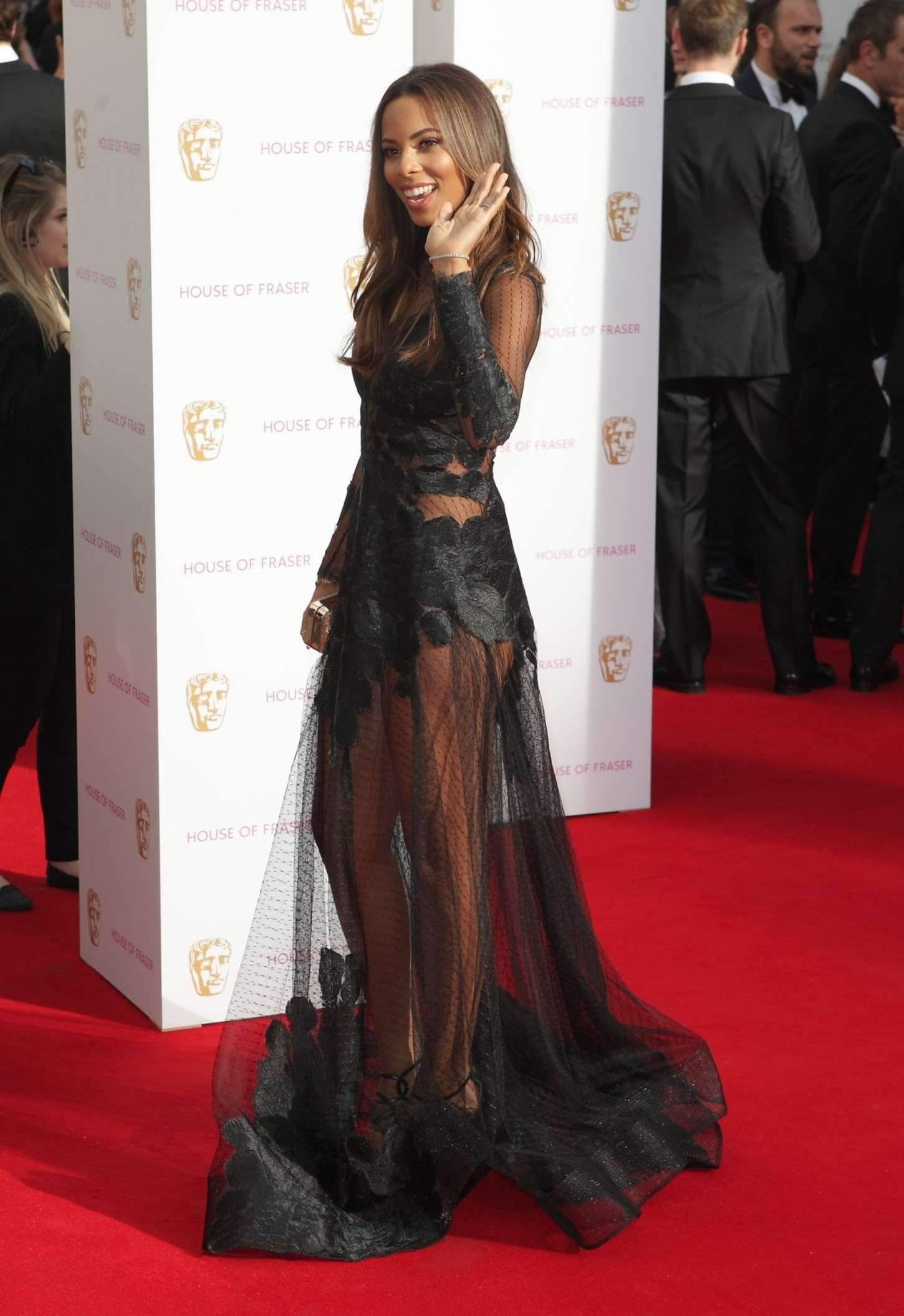 Rochelle Humes British Academy Television Awards in London
