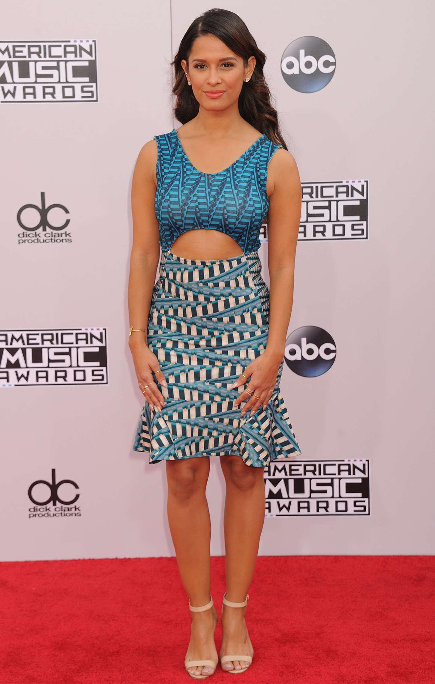 Rocsi Diaz American Music Awards in Los Angeles