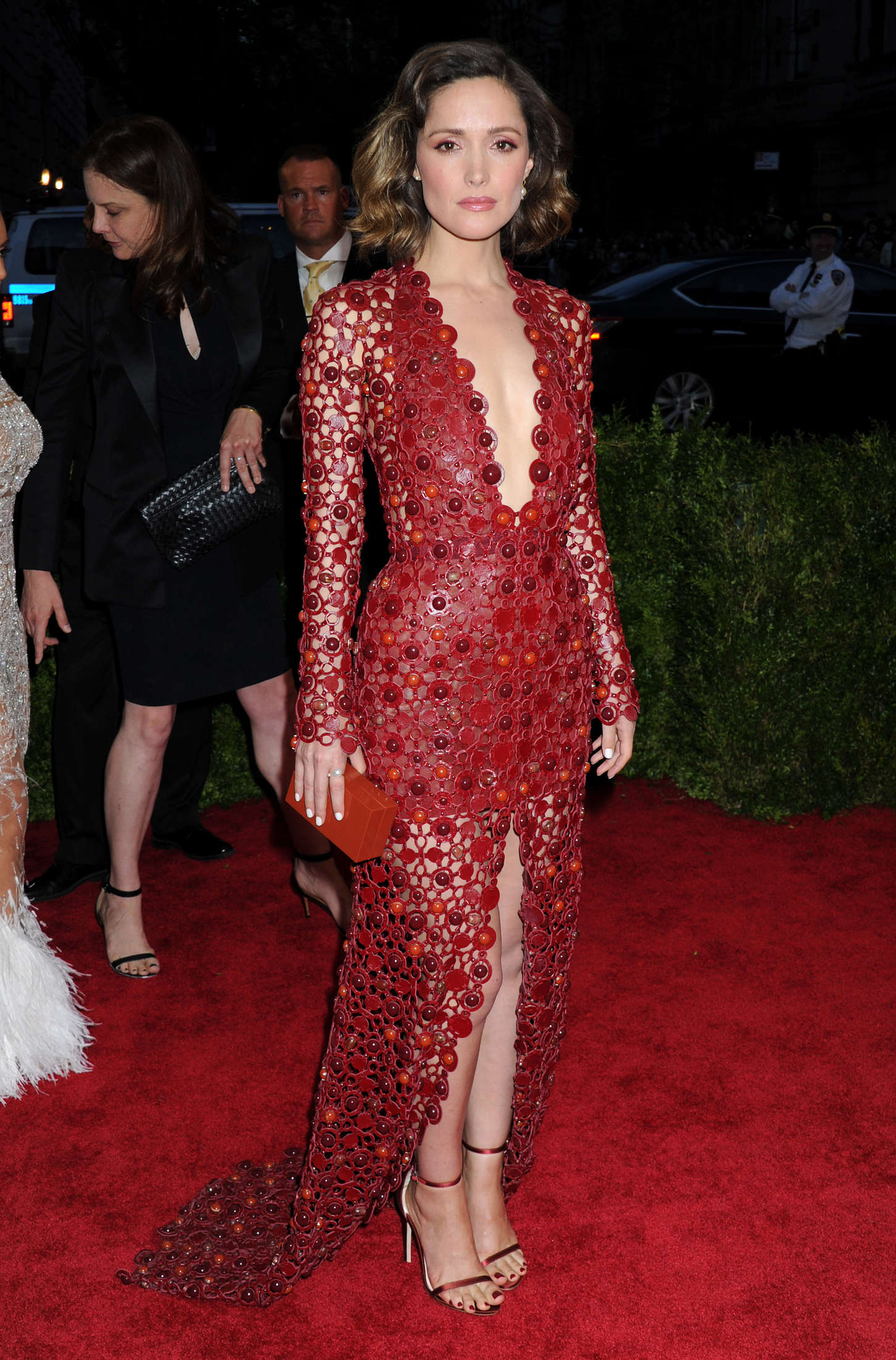 Rose Byrne China Through The Looking Glass Costume Institute Benefit Gala in New York