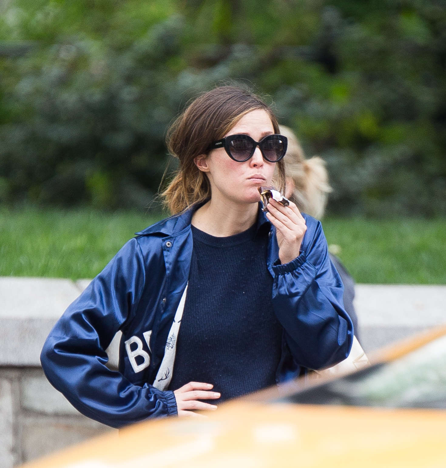 Rose Byrne Shopping in New York