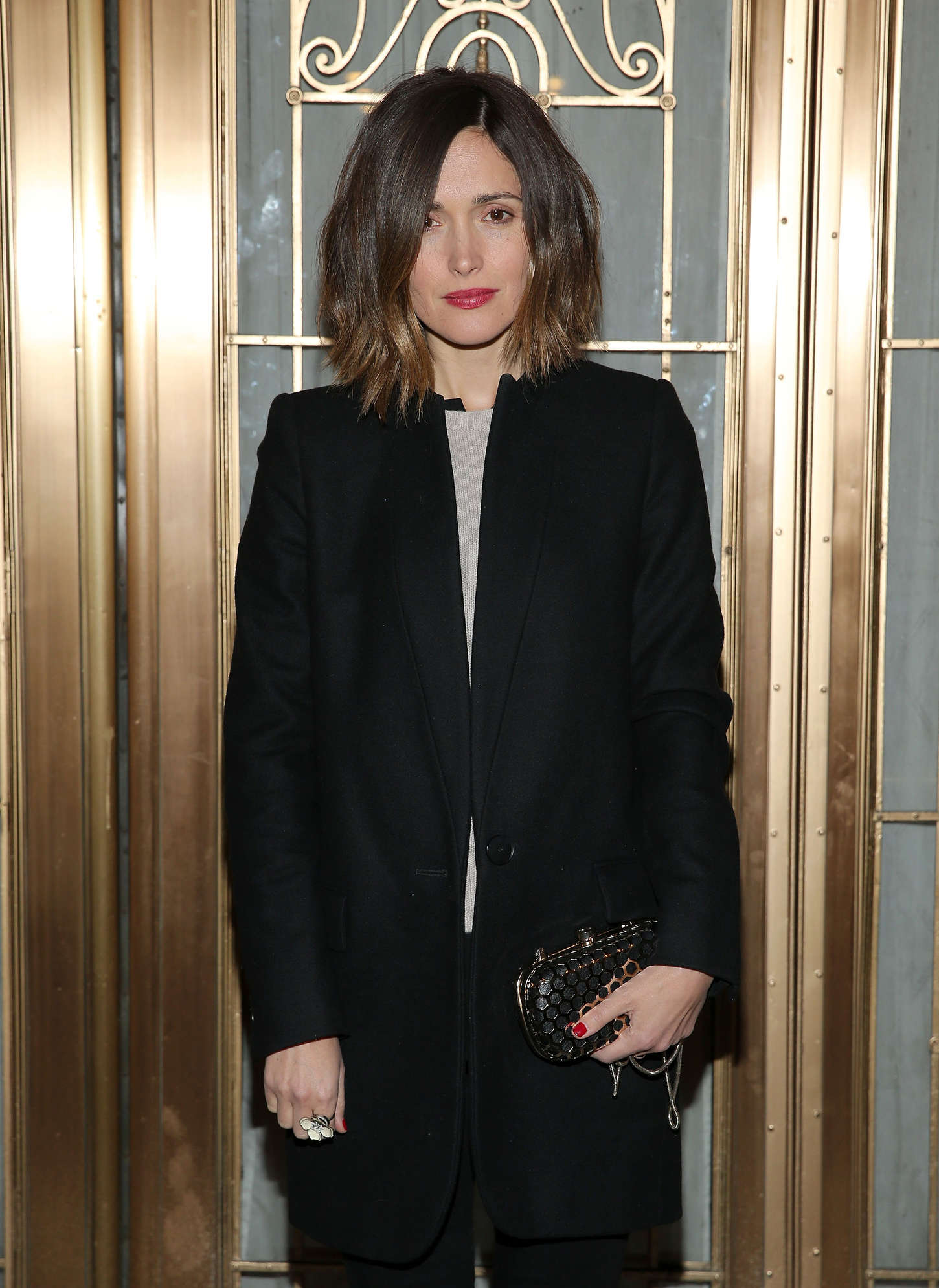 Rose Byrne The Heidi Chronicles Broadway Opening Night in New York