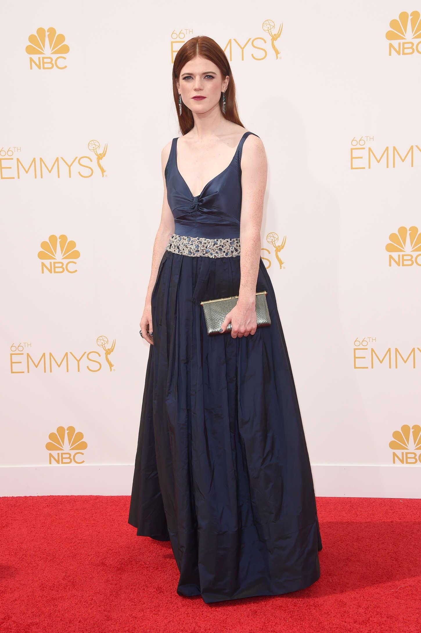 Rose Leslie annual Primetime Emmy Awards in Los Angeles