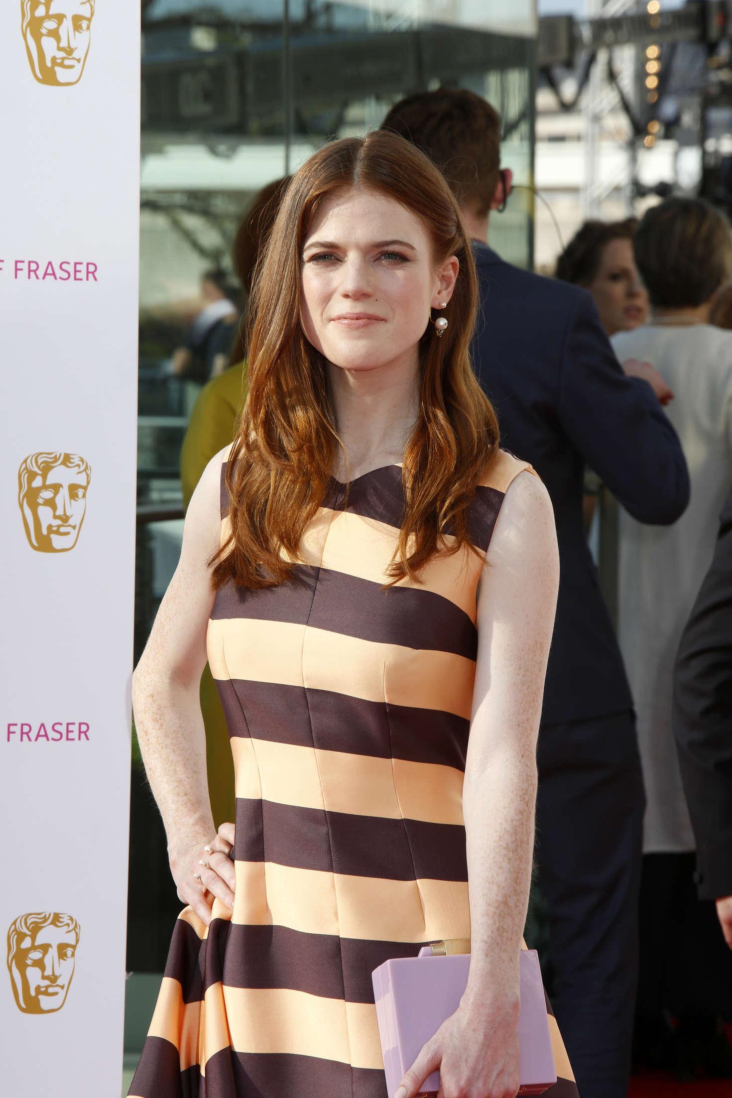 Rose Leslie BAFTA TV Awards in London