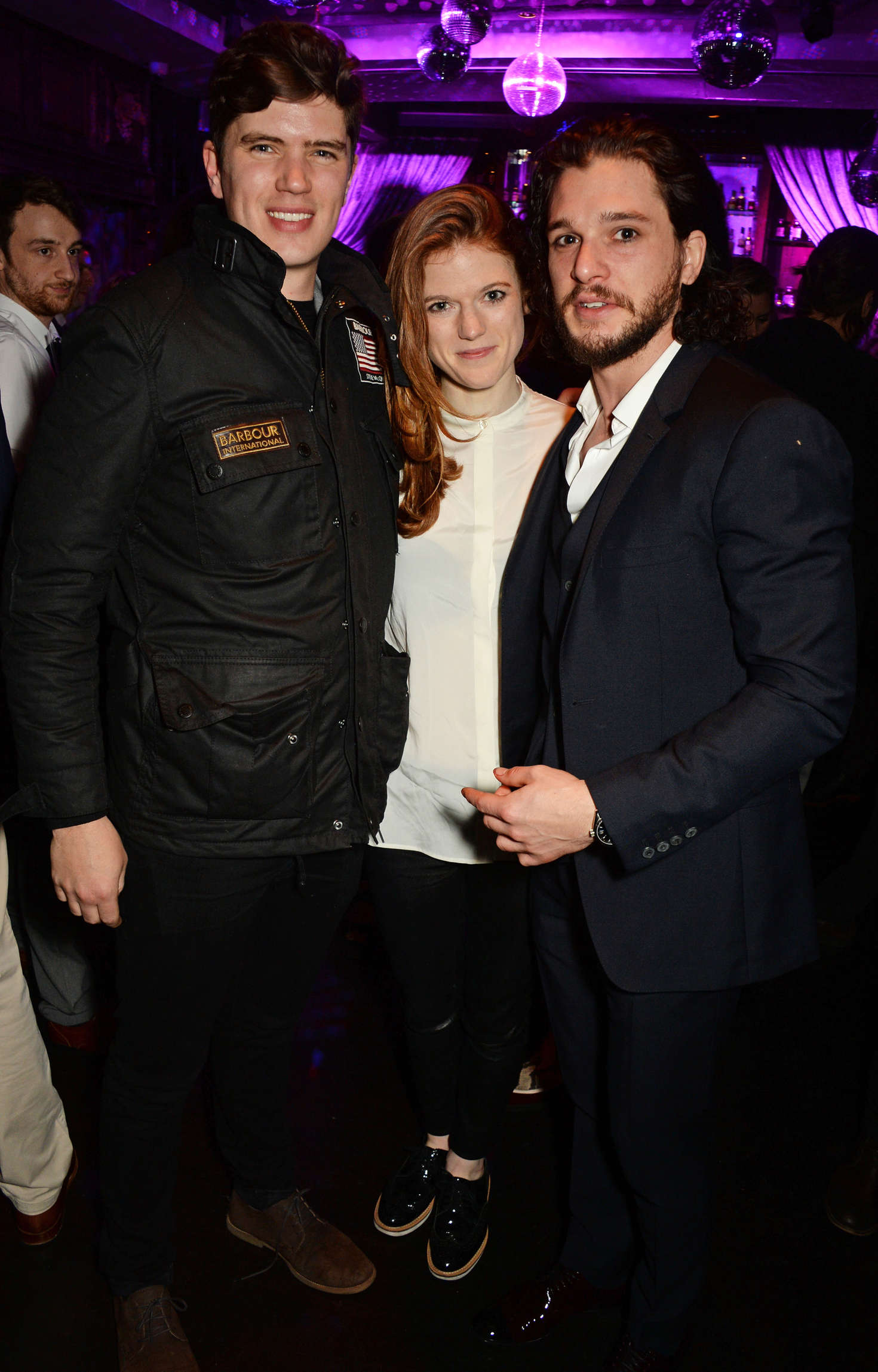 Rose Leslie Doctor Faustus Opening Night Afterparty in London