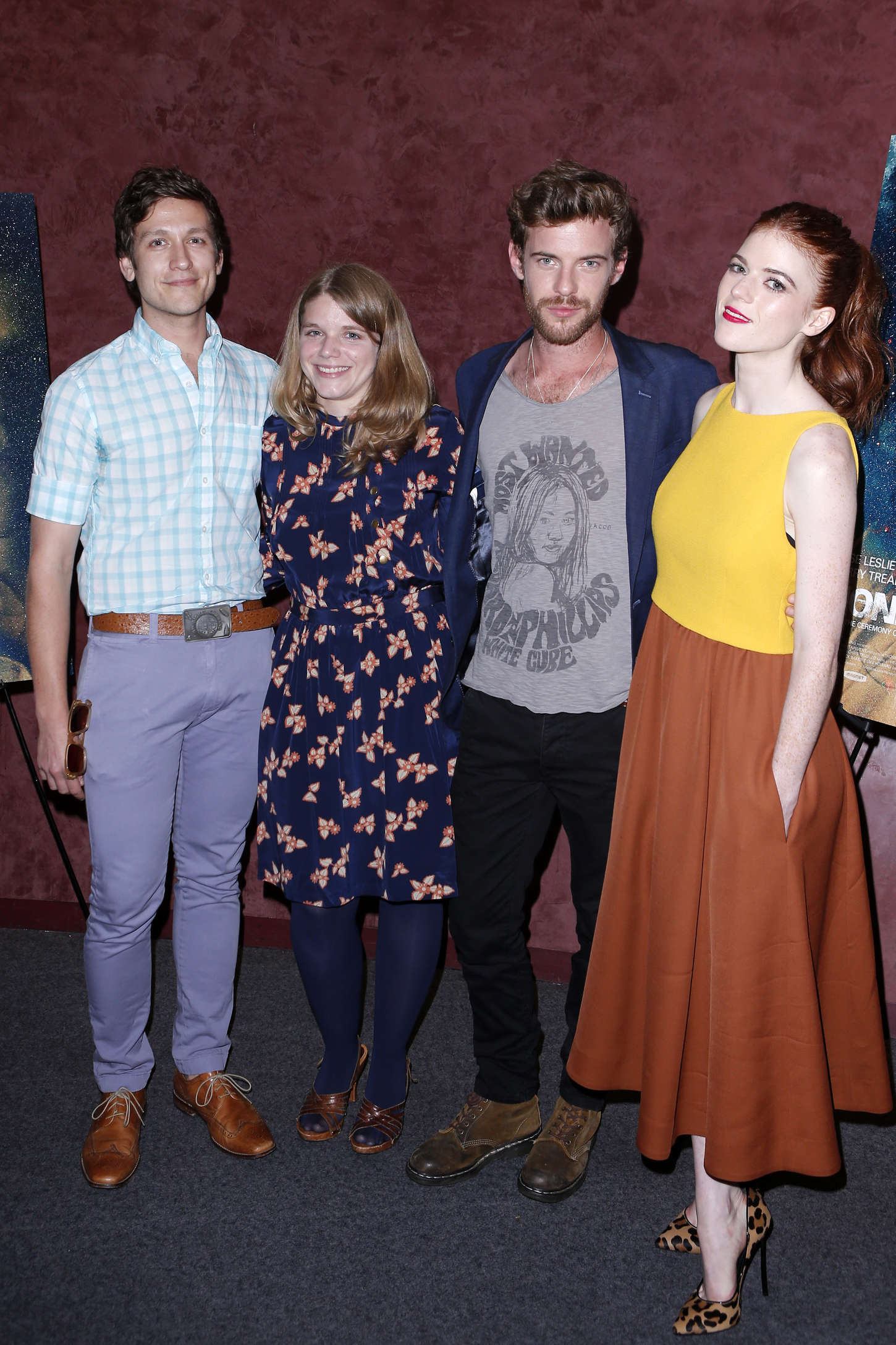 Rose Leslie Honeymoon Premiere in Los Angeles