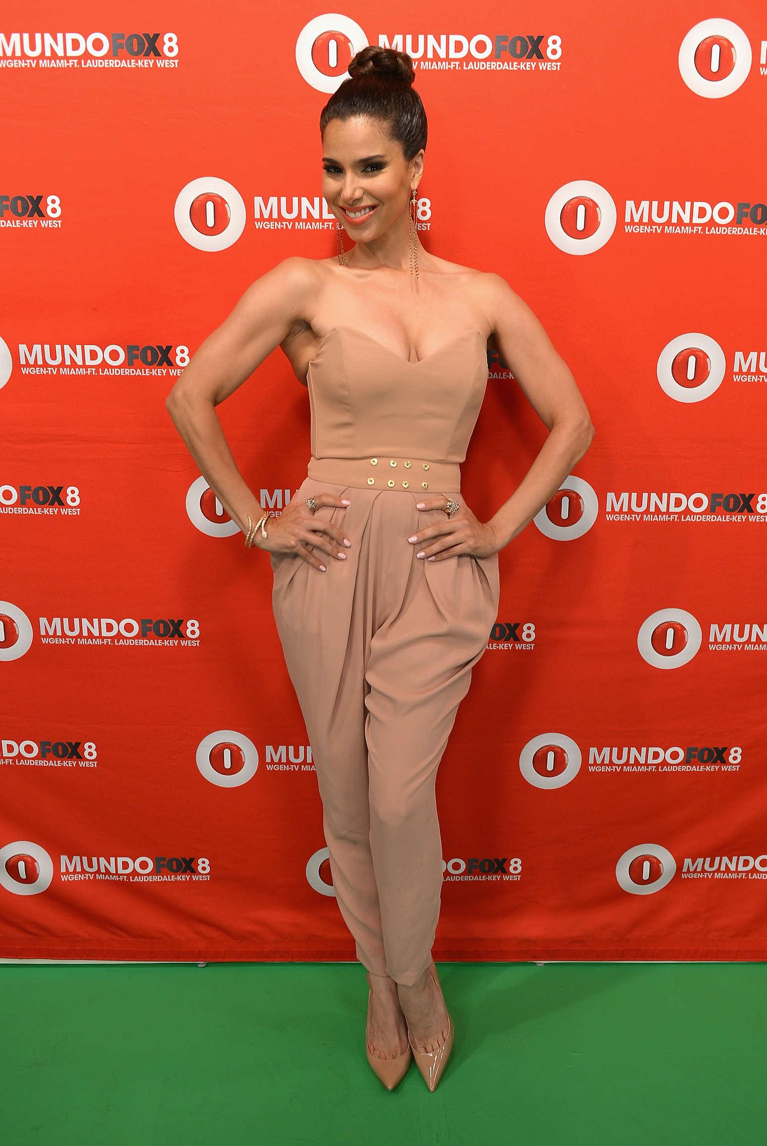 Roselyn Sanchez at Fox Mundo in Miami