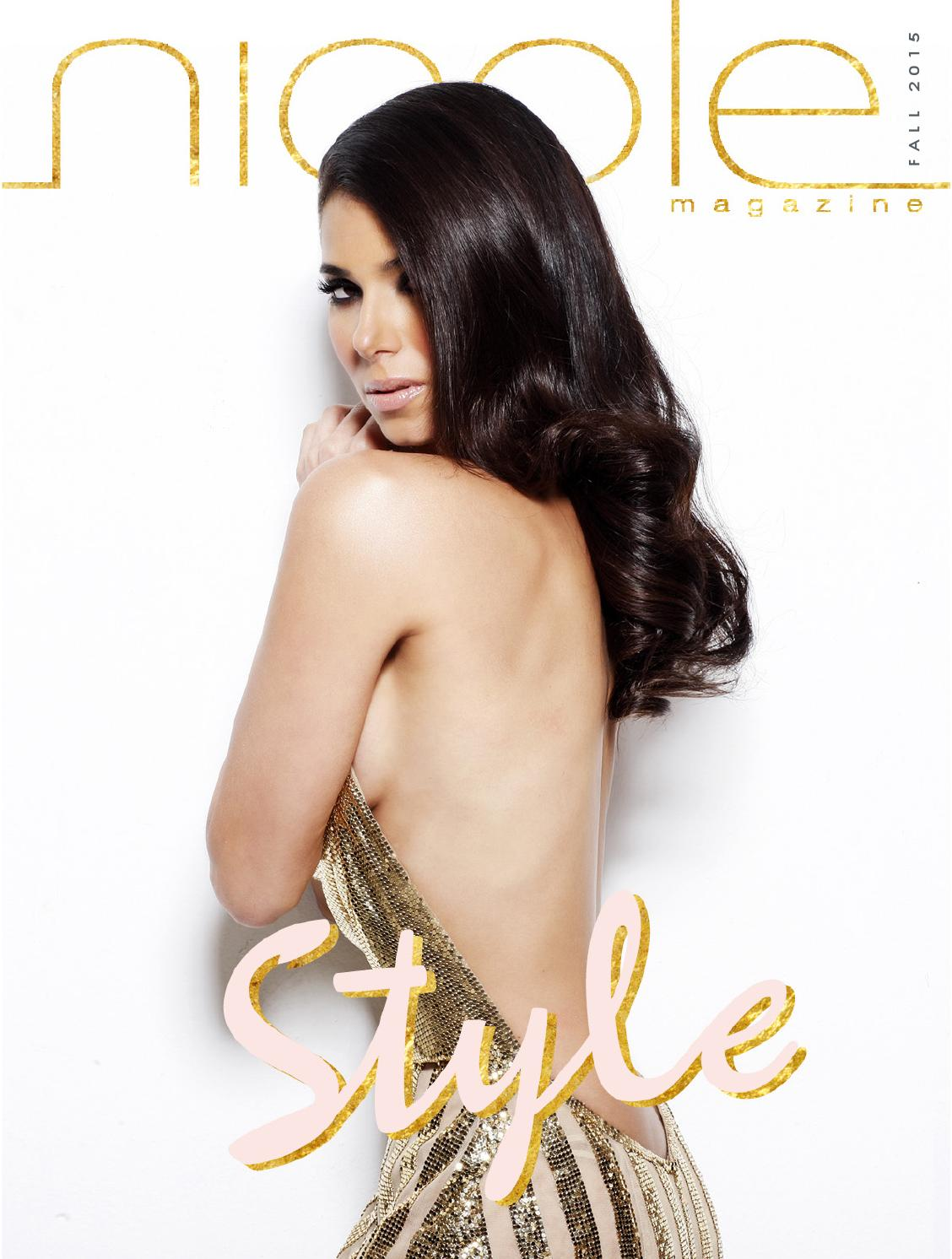 Roselyn Sanchez Nicole Magazine