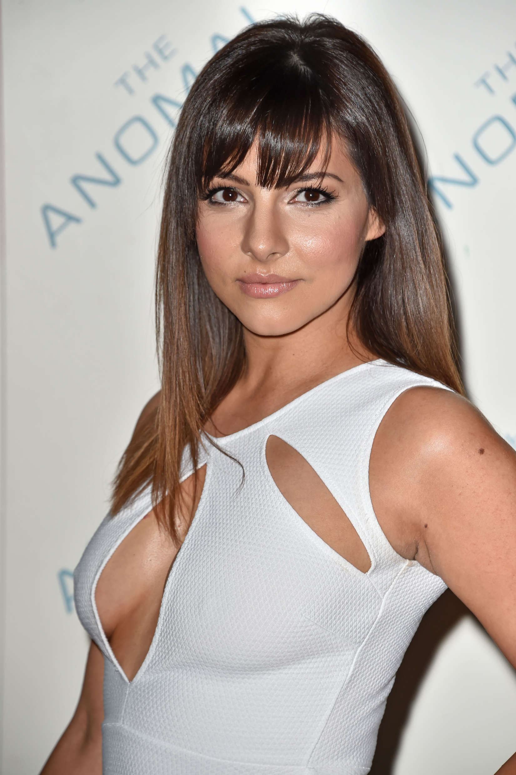Roxanne Pallett at film screening The Anomaly in London