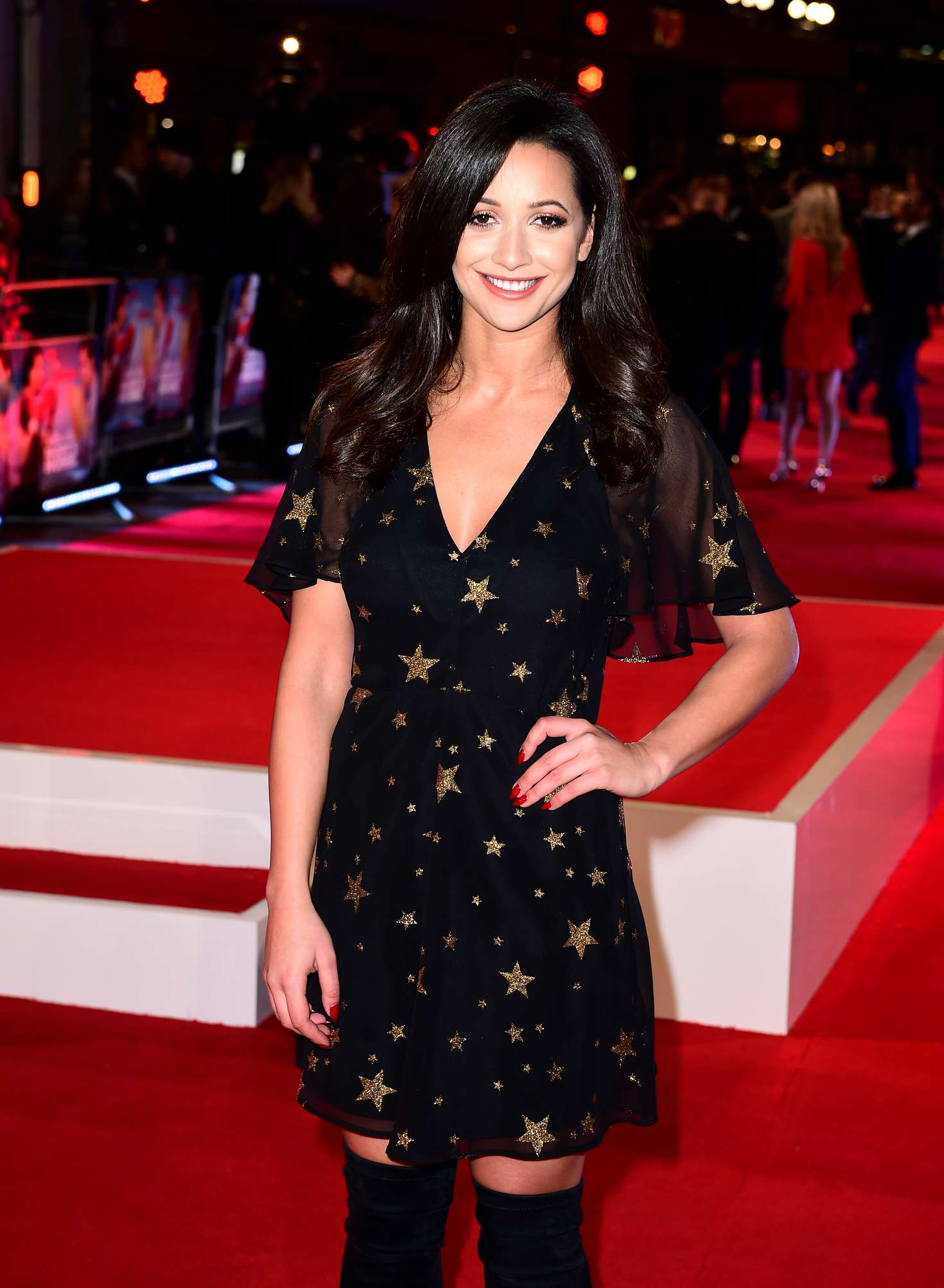 Roxie Nafousi Daddys Home Premiere in London