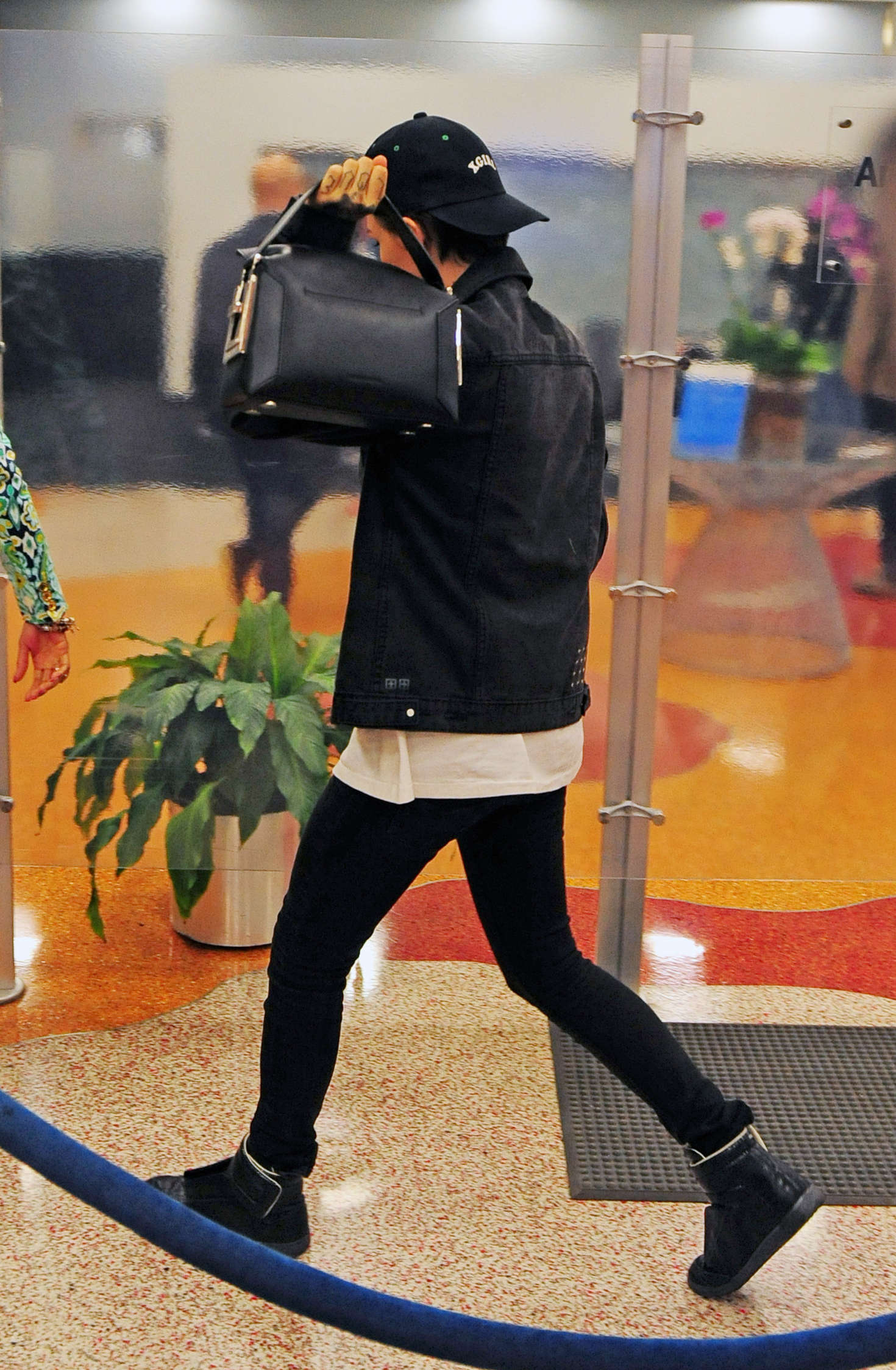 Ruby Rose Leaving Airport in Miami