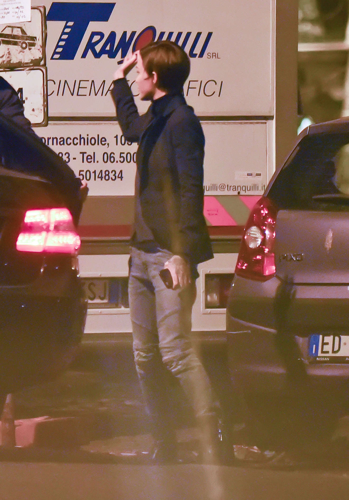 Ruby Rose Leaving the set of John Wick in Rome