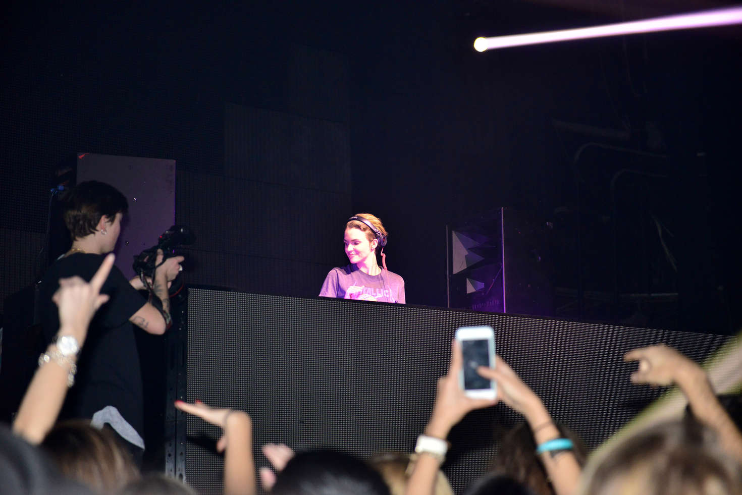 Ruby Rose Performs at the Grand Opening Of ICON MIAMI in Miami