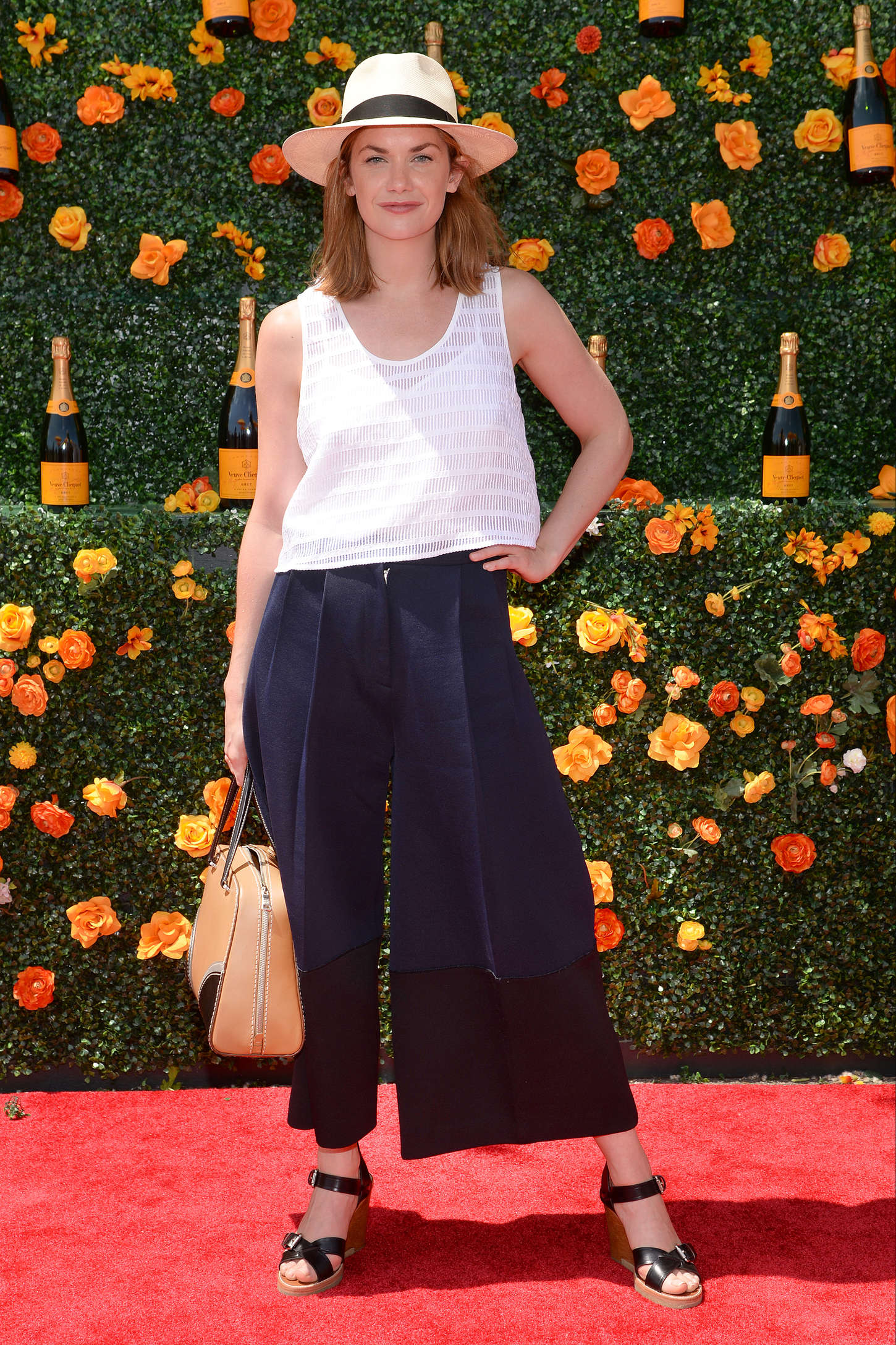 Ruth Wilson Annual Veuve Clicquot Polo Classic in New Jersey