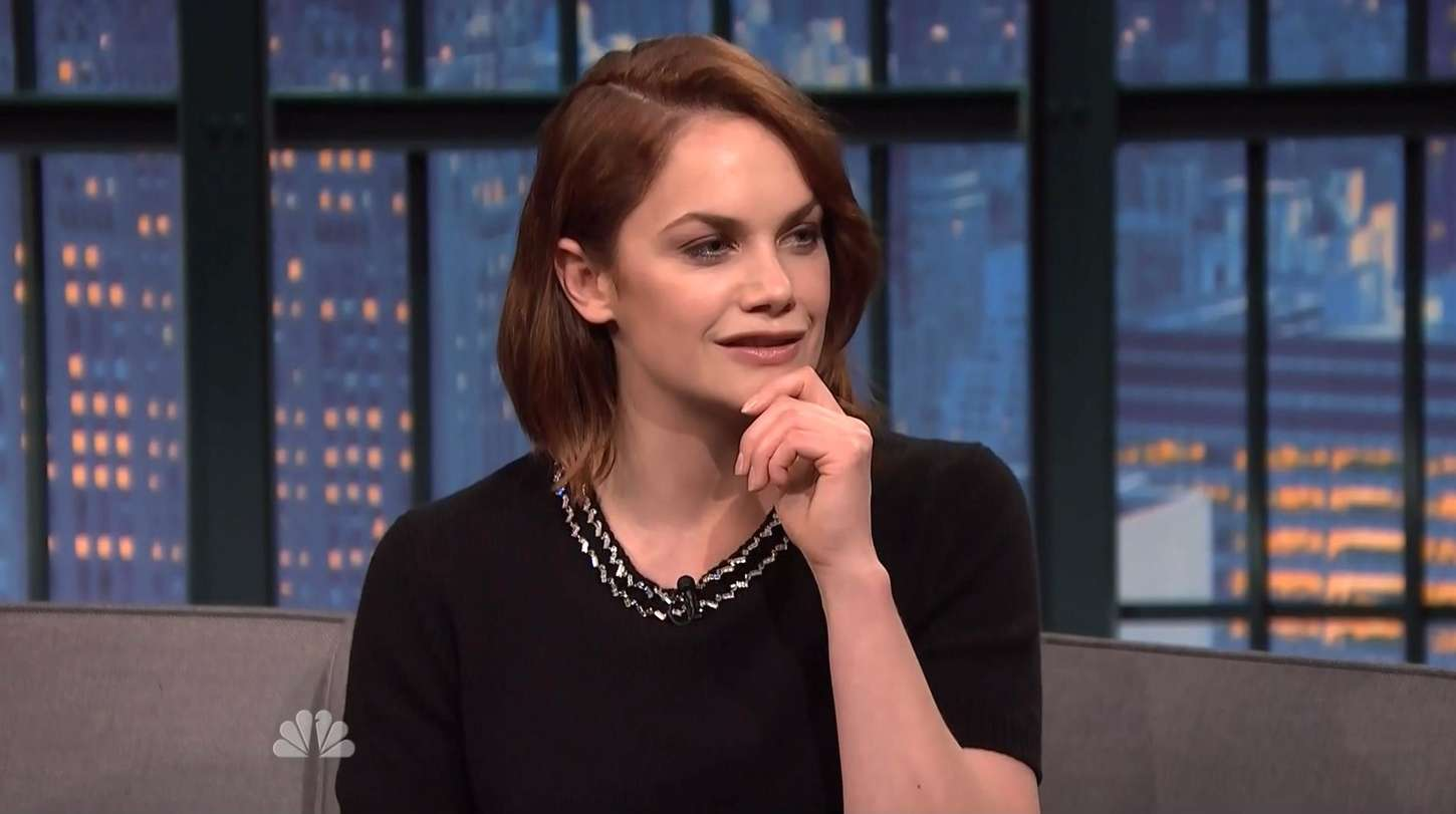 Ruth Wilson at Late Night with Seth Meyers in New York