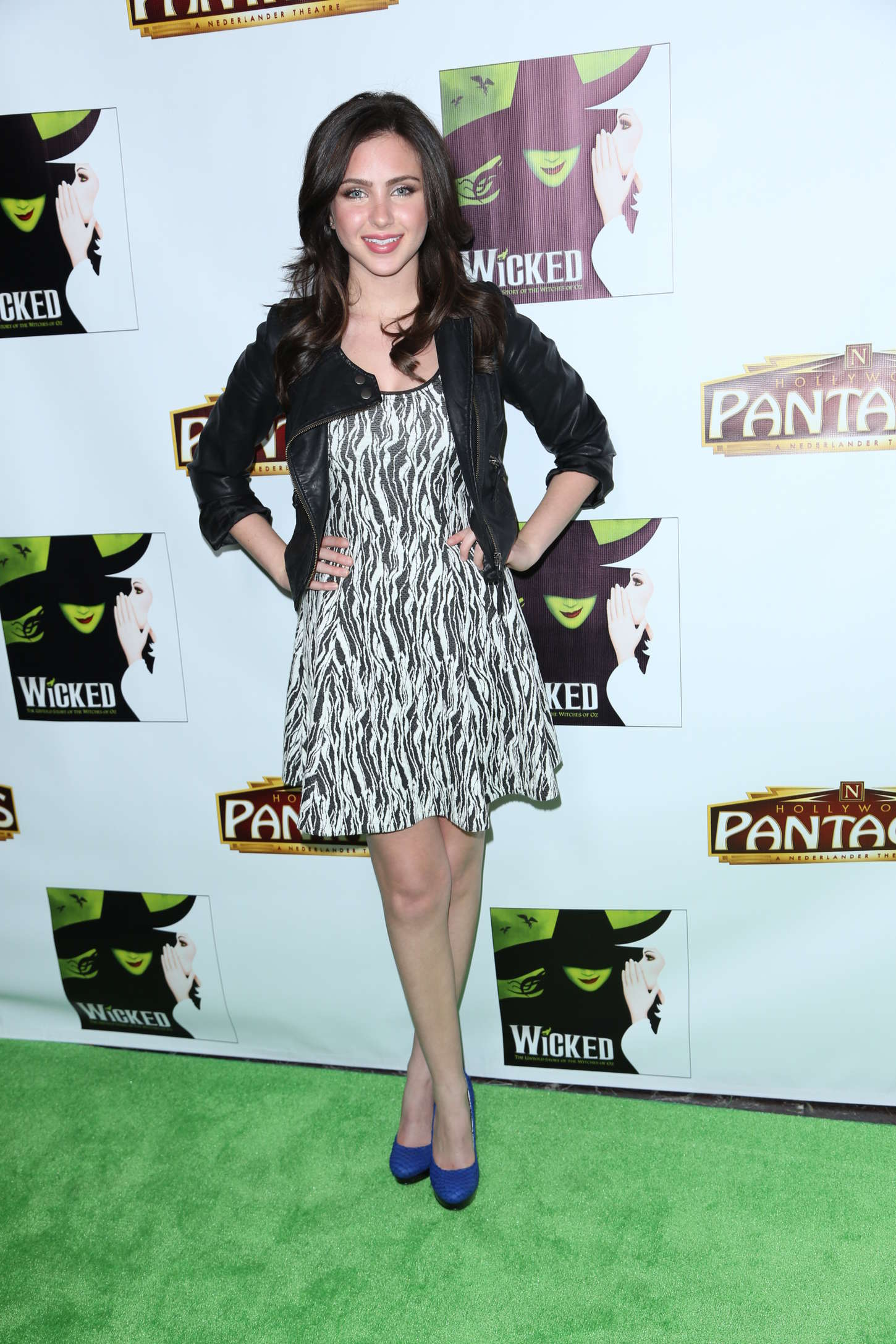 Ryan Newman Wicked Opening Night in Hollywood