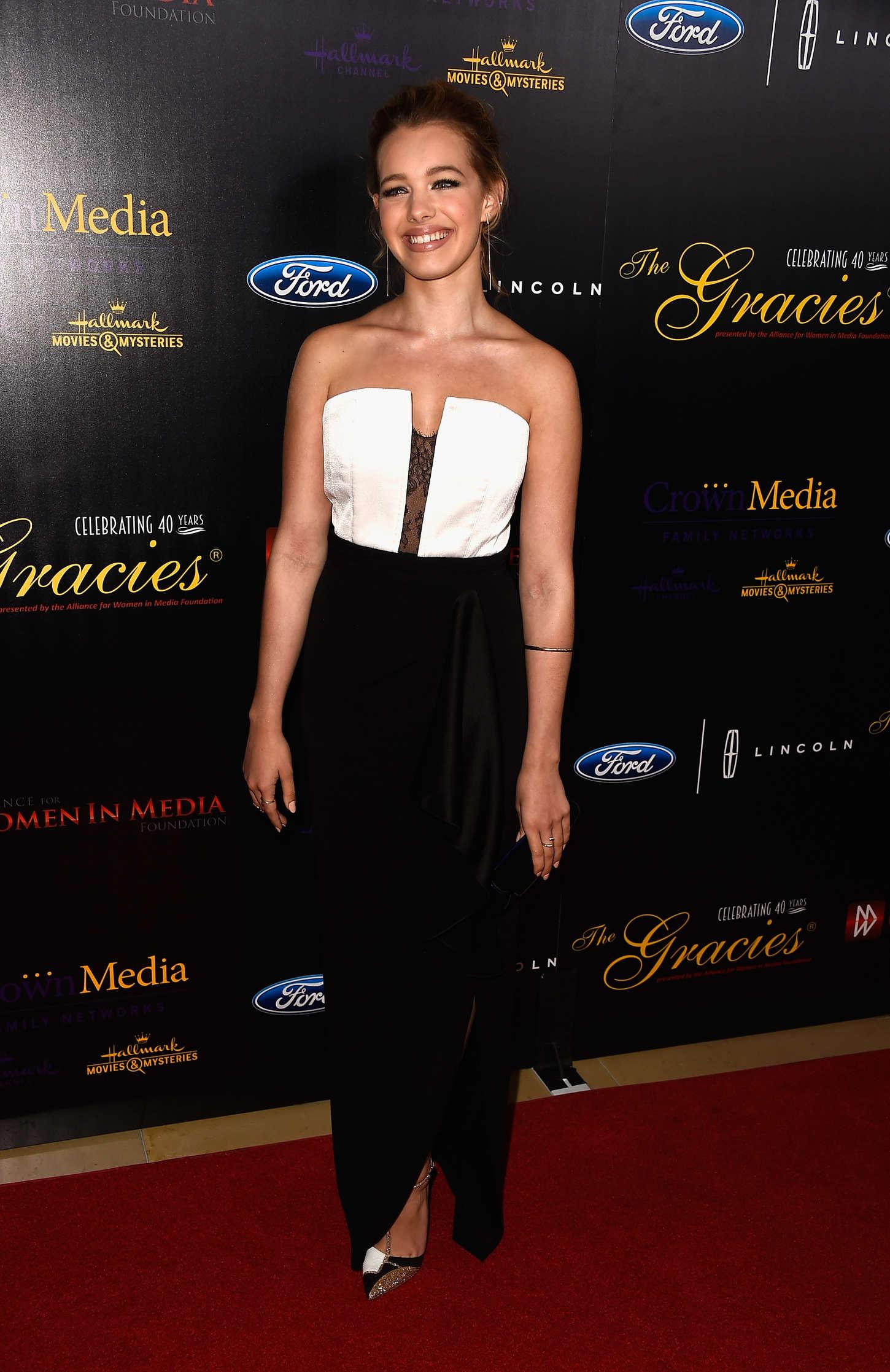 Sadie Calvano Anniversary Gracies Awards in Beverly Hills