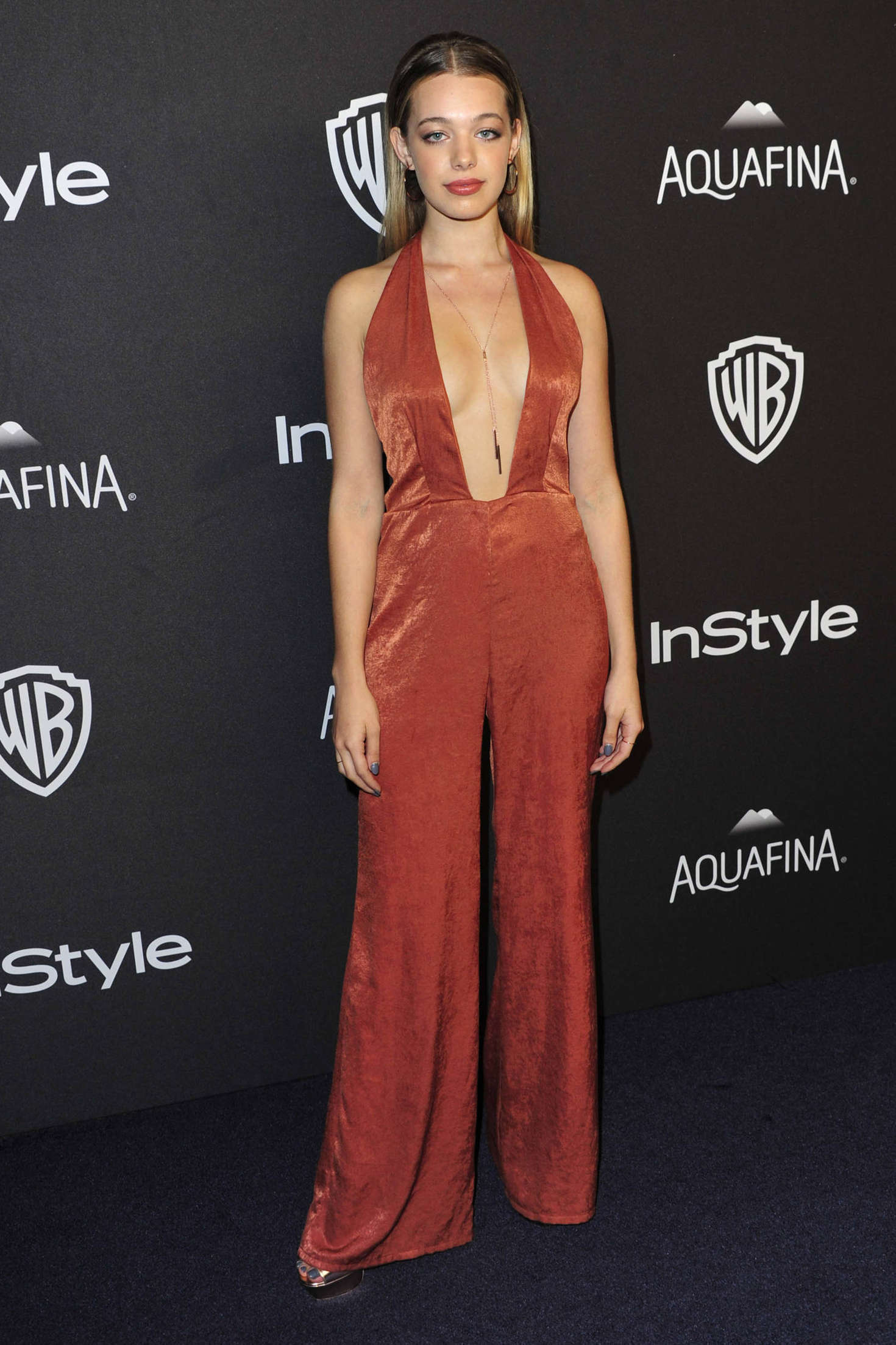 Sadie Calvano InStyle and Warner Bros Golden Globe Awards Post-Party in Beverly Hills