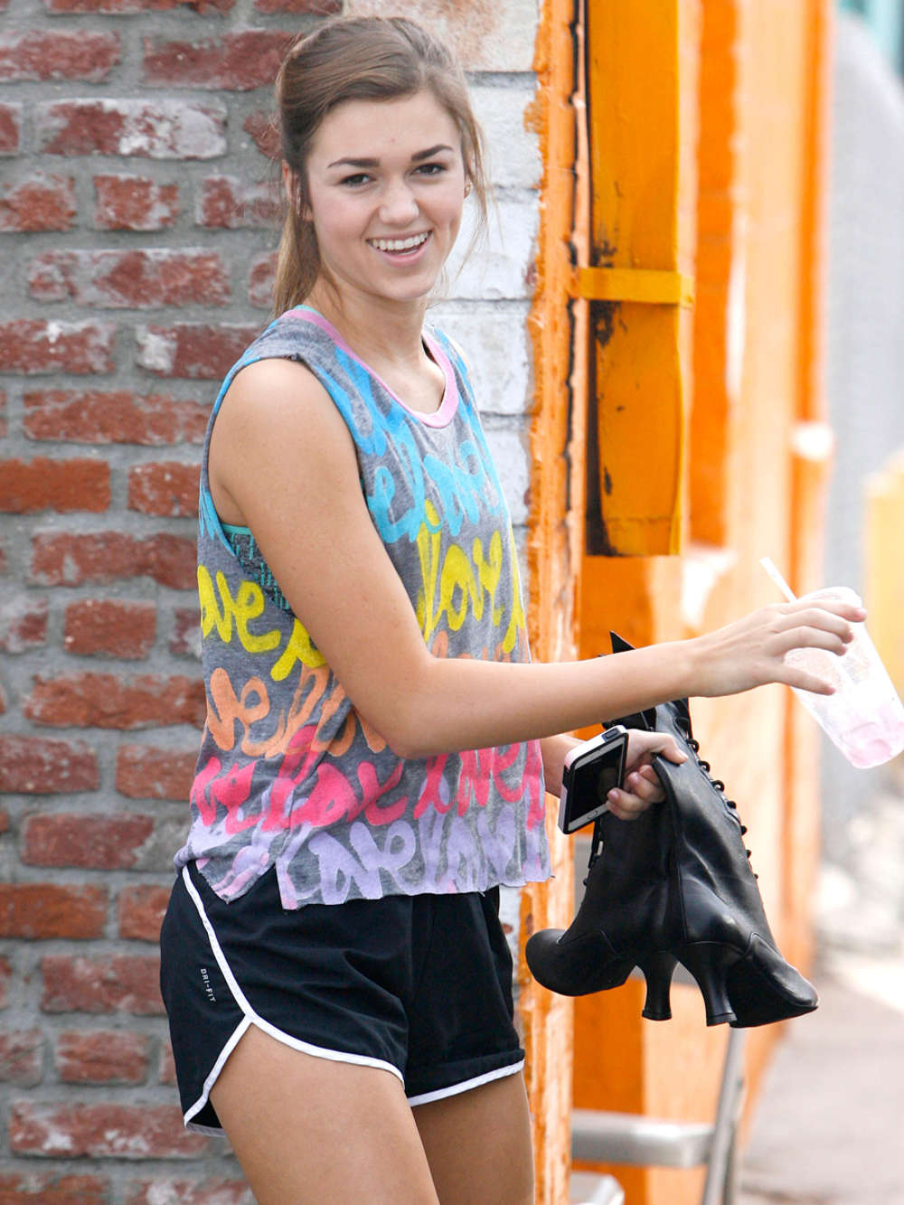 Sadie Robertson at DWTS Practice in Hollywood