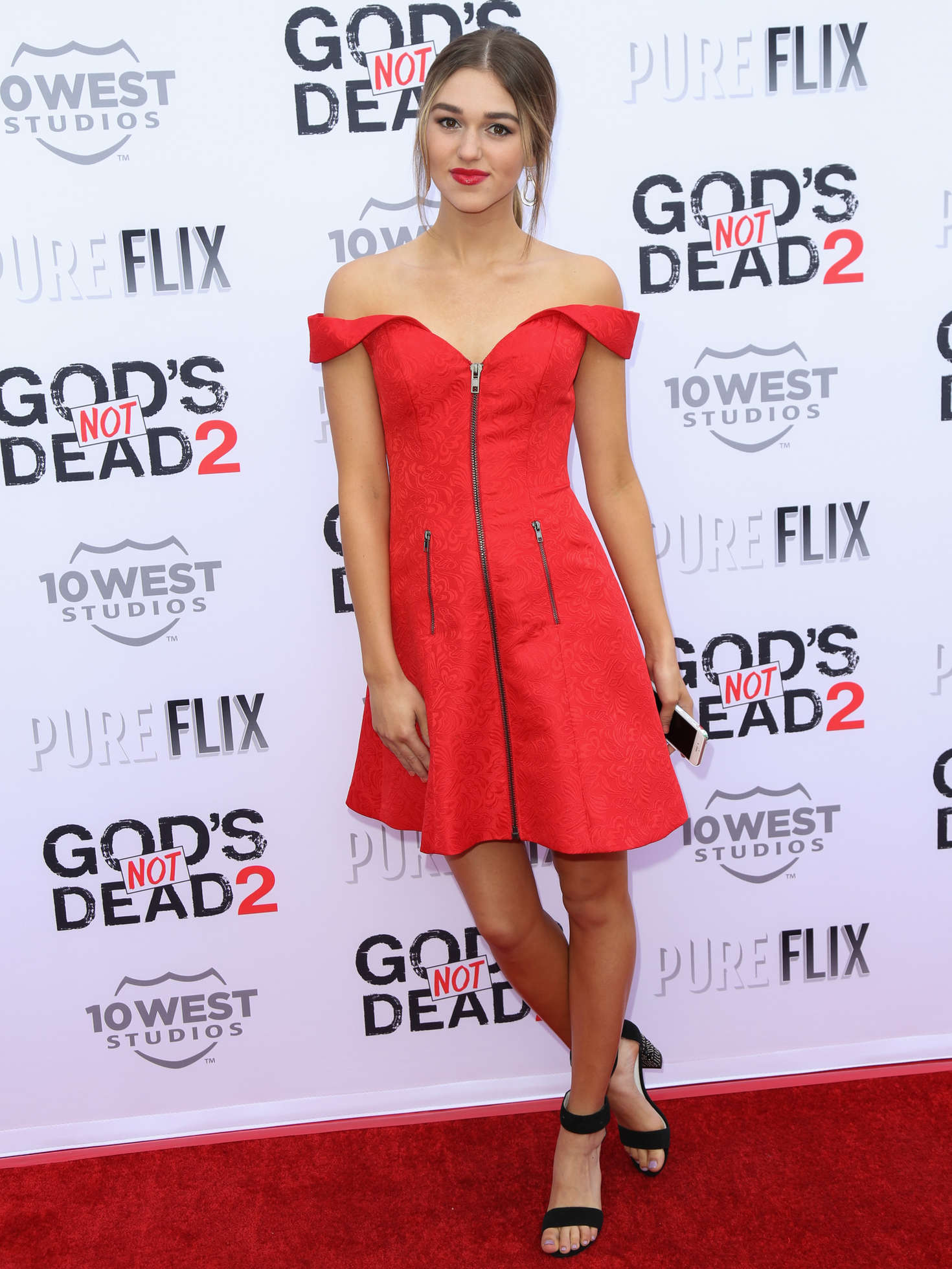 Sadie Robertson Gods Not Dead Premiere in Los Angeles