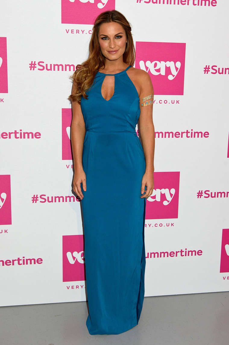 Sam Faiers Very.co.uk Summertime Party in London