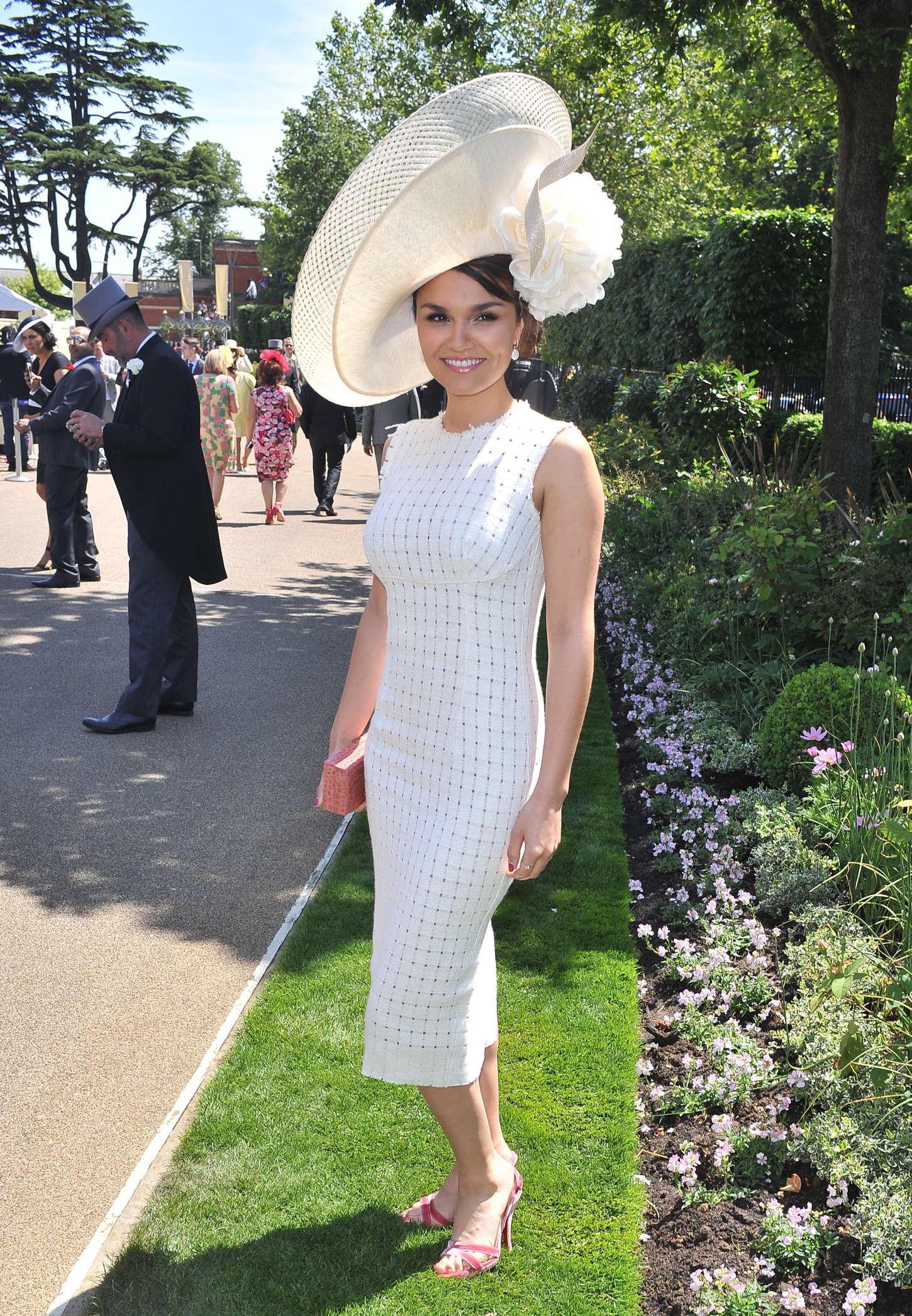 Samantha Barks Royal Ascot Ladies Day in Berkshire