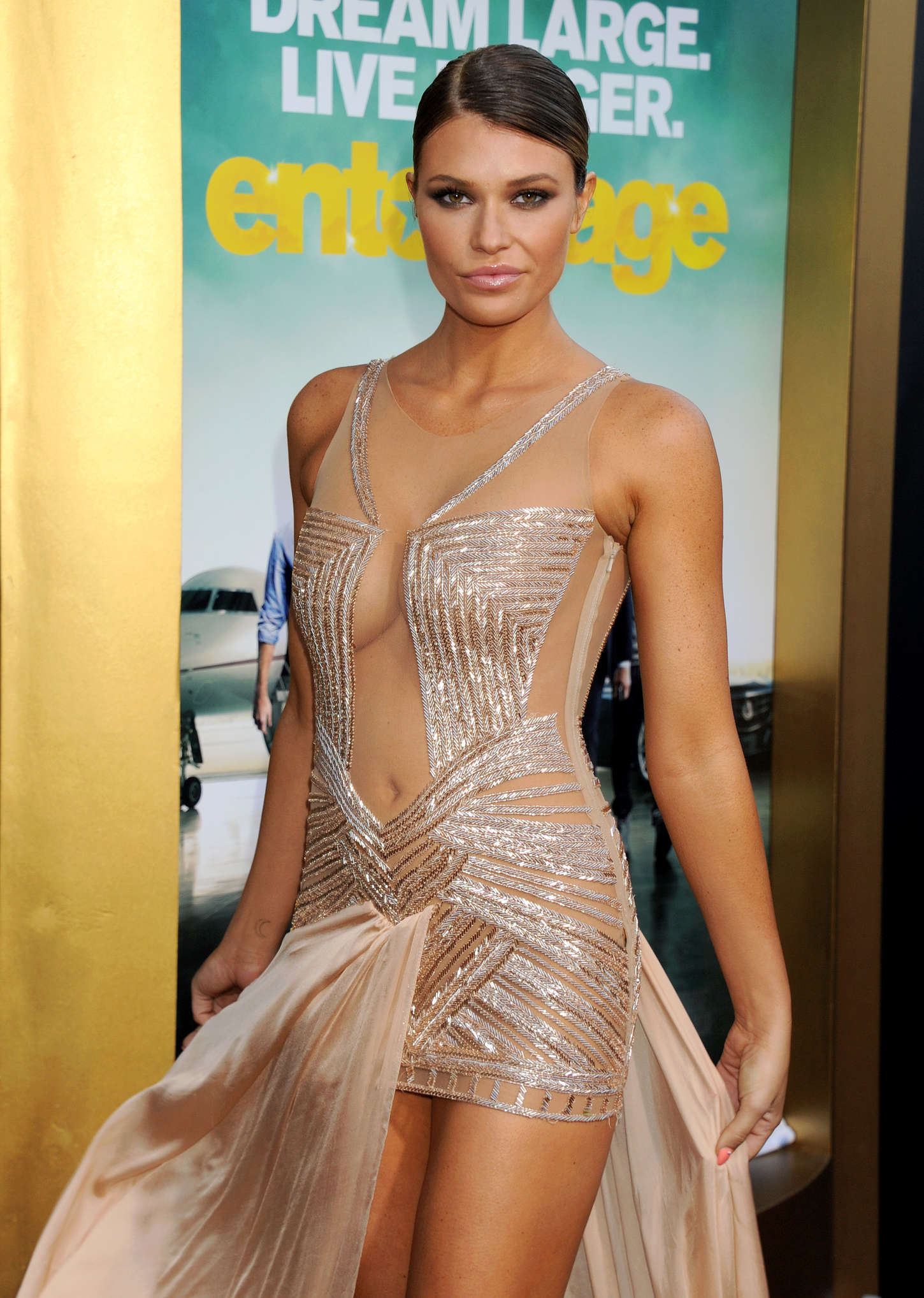 Samantha Hoopes Entourage Premiere in Westwood