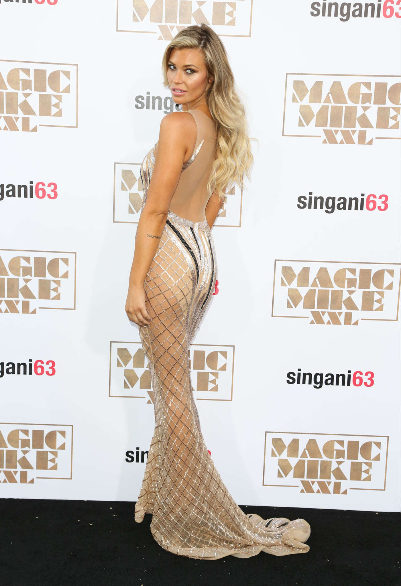Samantha Hoopes Magic Mike XXL Premiere in Los Angeles