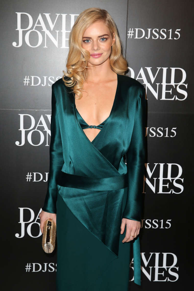 Samara Weaving David Jones Spring/Summer Fashion Launch in Sydney