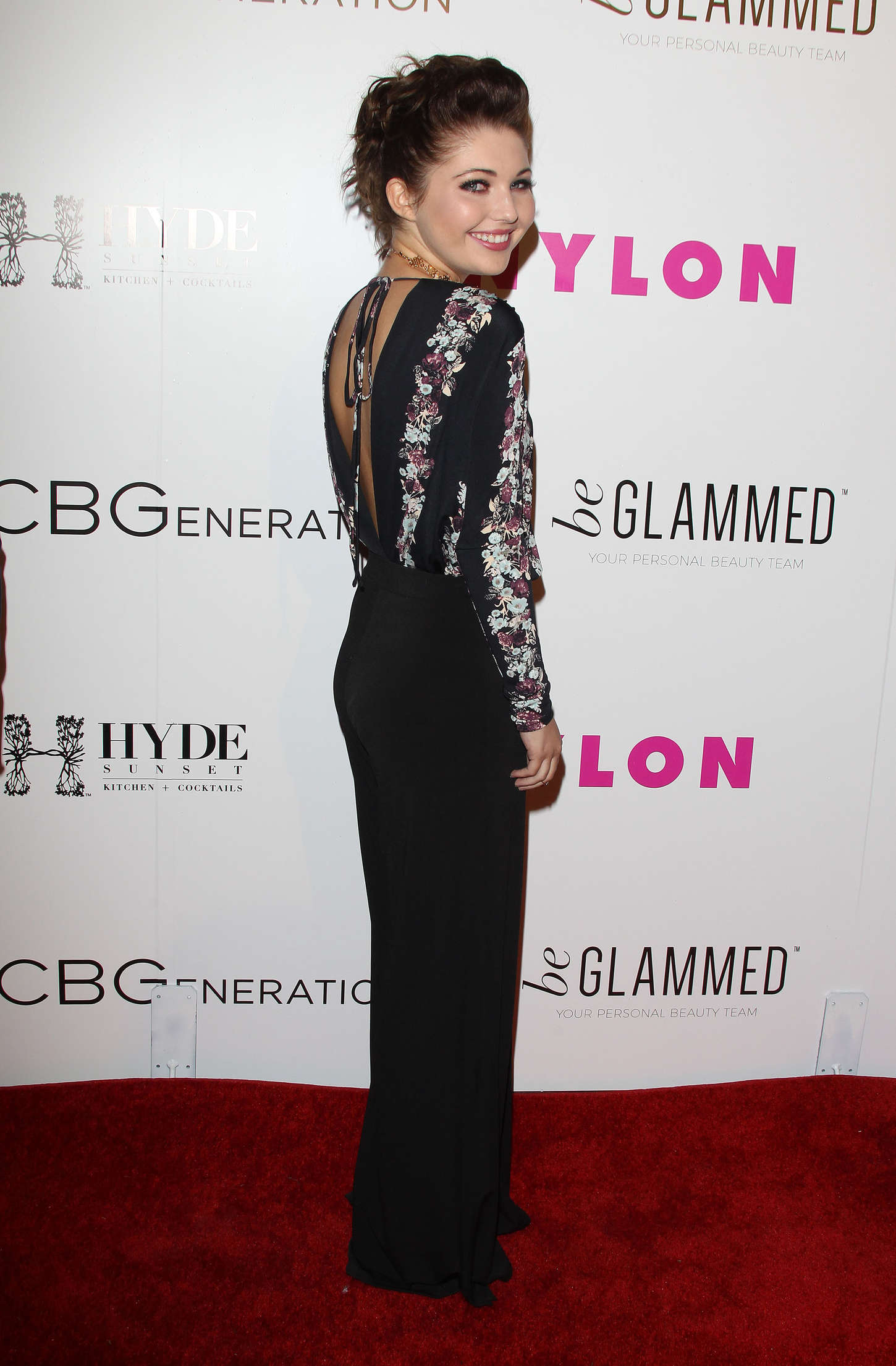 Sammi Hanratty NYLON Young Hollywood Party presented by BCBGeneration in Hollywood