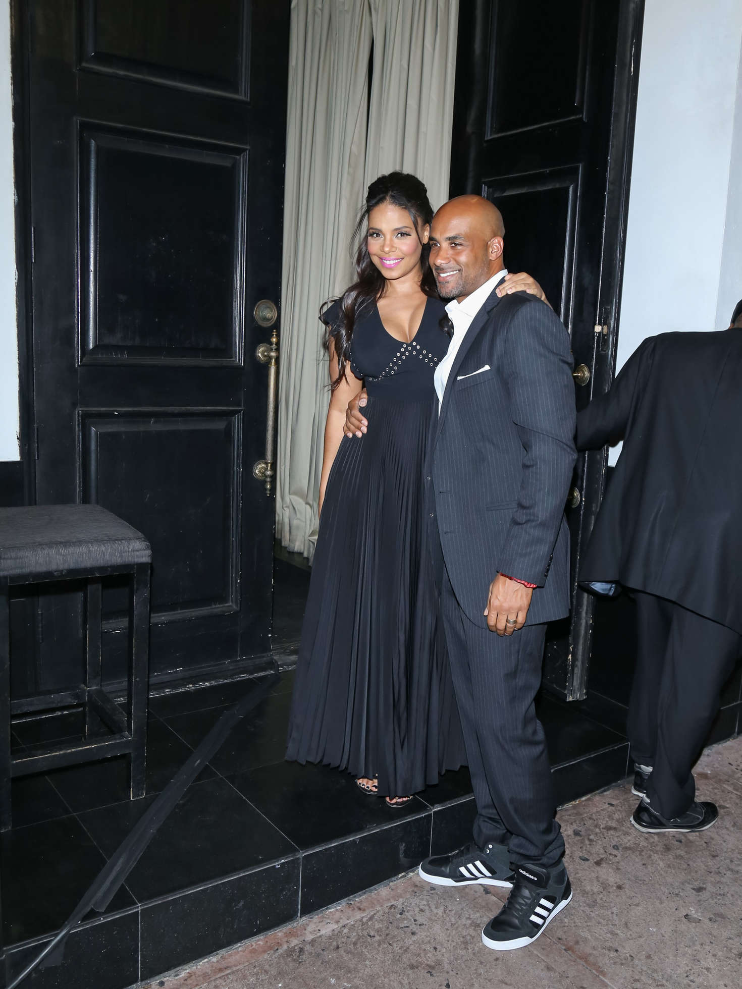 Sanaa Lathan at a fundraising event at Beso in Los Angeles
