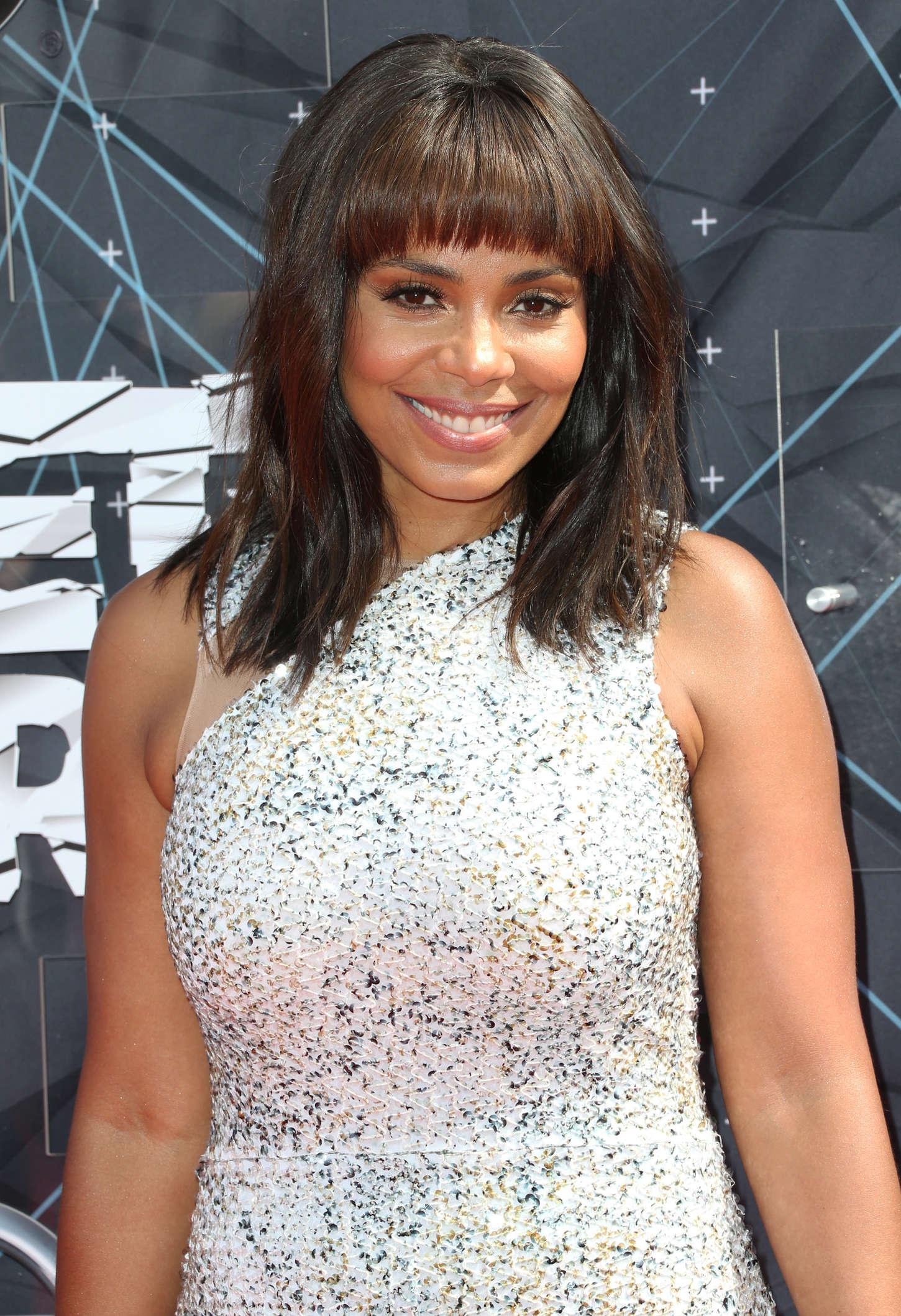 Sanaa Lathan BET Awards in Los Angeles