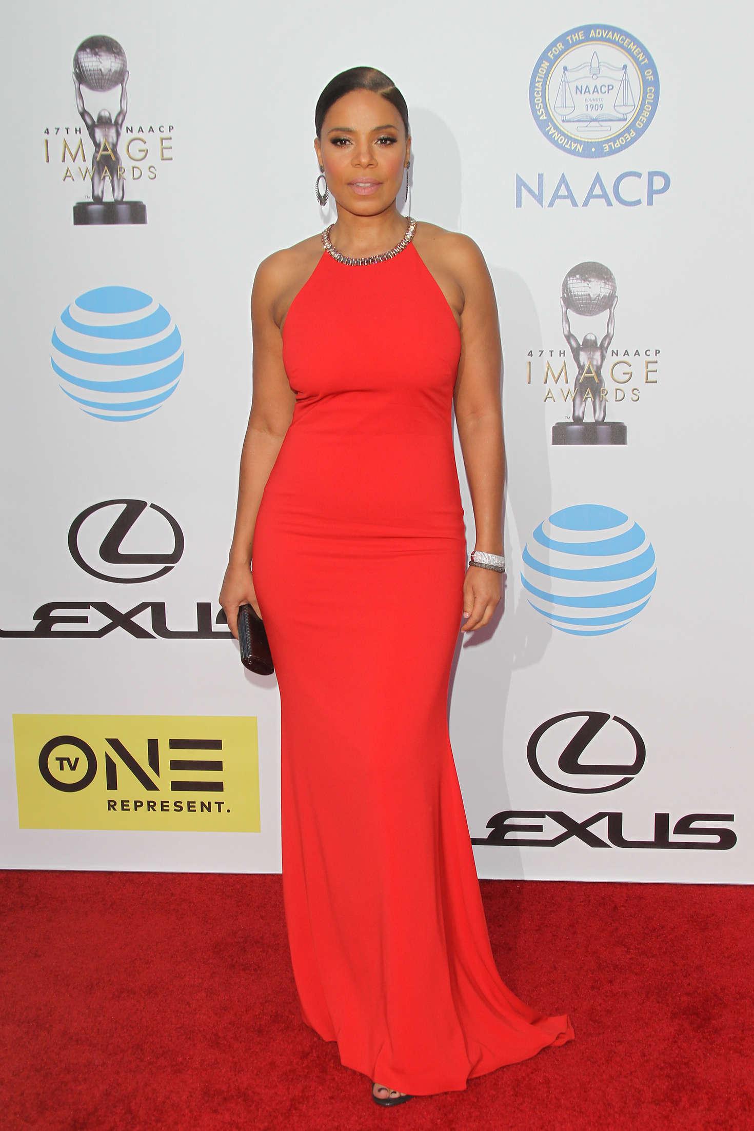 Sanaa Lathan NAACP Image Awards in Pasadena