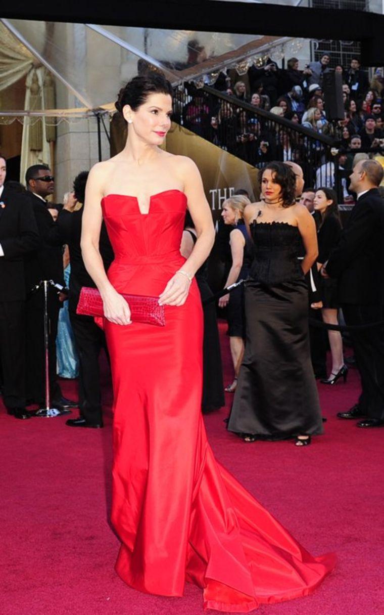 Sandra Bullock Oscar Awards Arrival