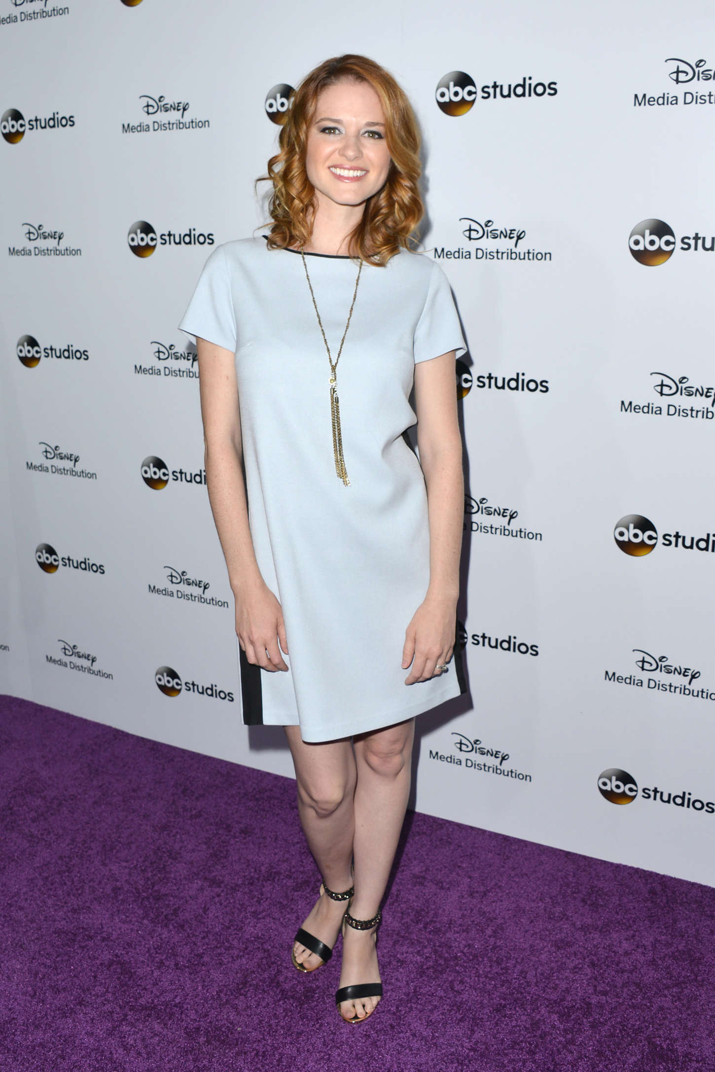 Sarah Drew Disney Media Distribution International Upfront in Burbank