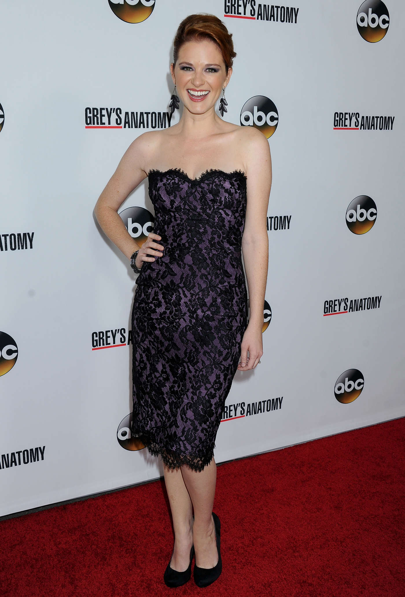 Sarah Drew Episode of Greys Anatomy Party in Los Angeles