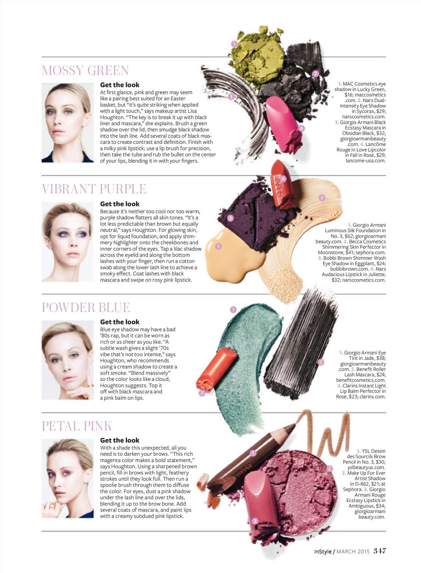 Sarah Gadon InStyle US Magazine