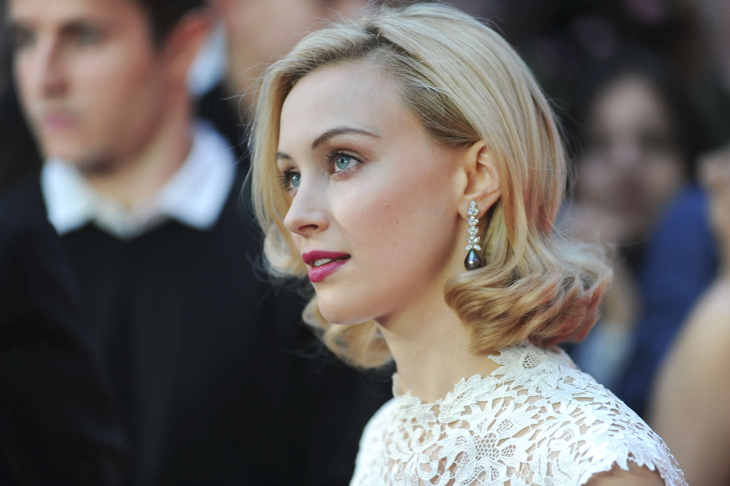 Sarah Gadon Premiere Dracula Untold in London