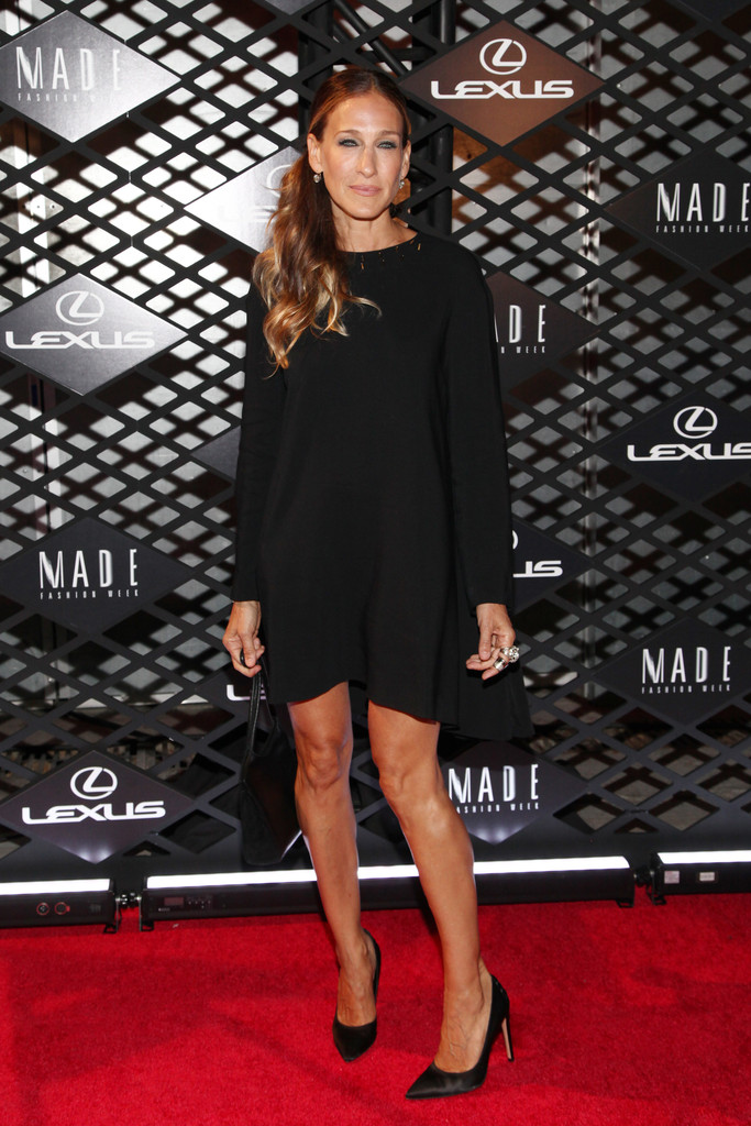 Sarah Jessica Parker Lexus Design Disrupted Fashion Event in New York