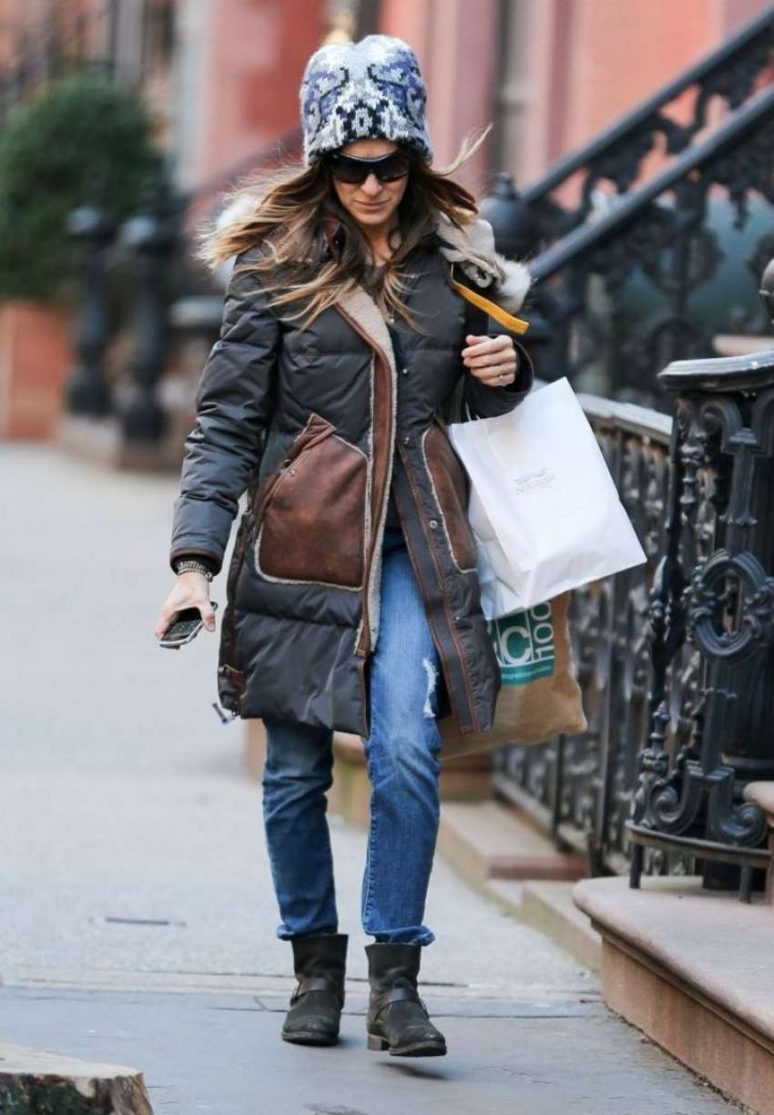 Sarah Jessica Parker Shopping in New York